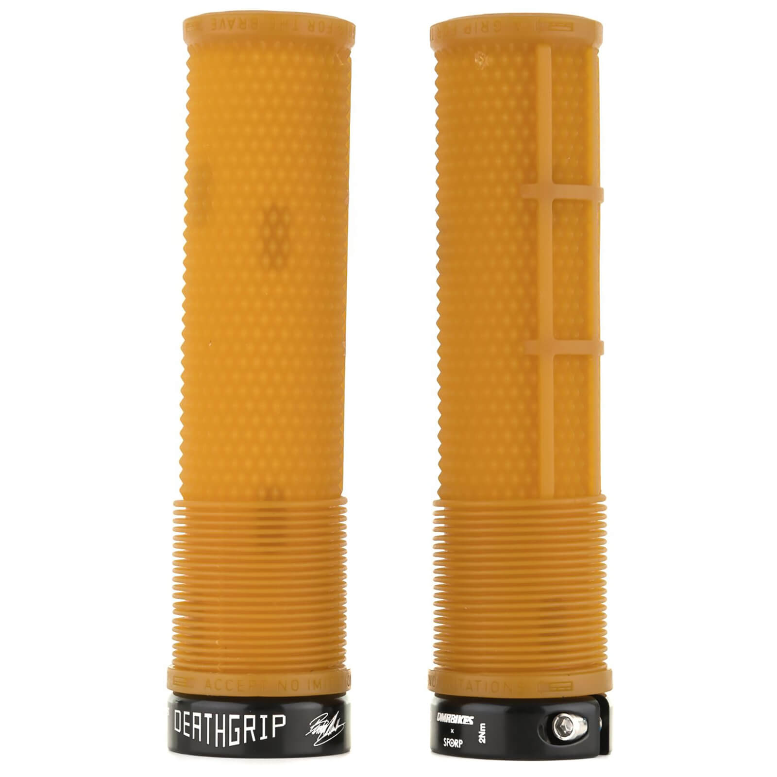 DMR Deathgrip Flangeless Handlebar Grip - Thick - 31.3mm - Gum