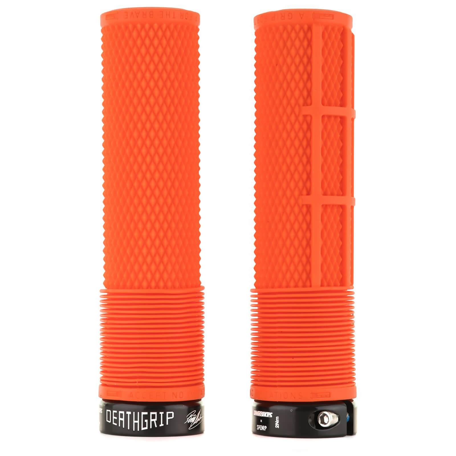 DMR Deathgrip Flangeless Handlebar Grip - Thick - 31.3mm - Tango