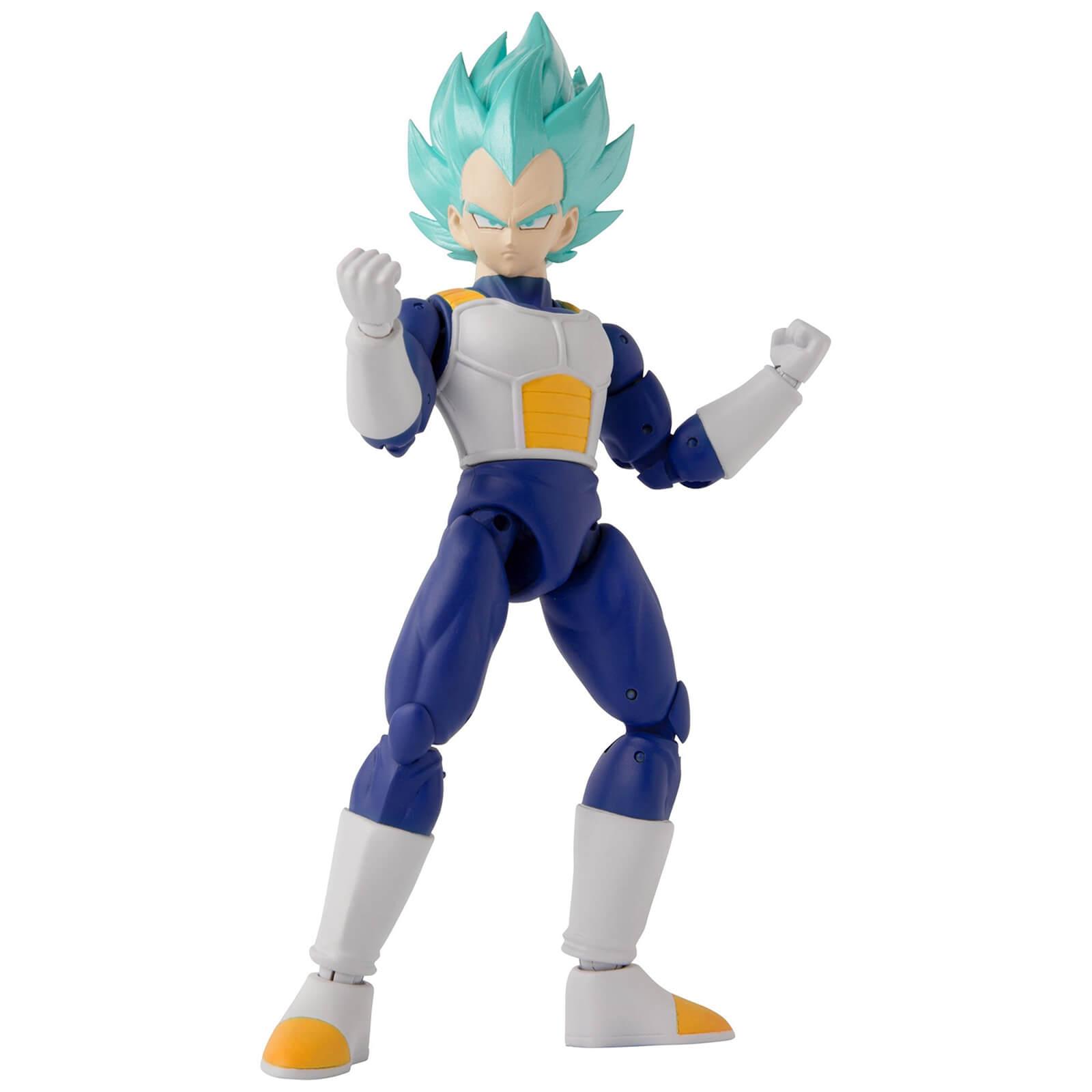 Image of Bandai Dragon Stars DBZ Super Saiyan Blue Vegeta Version 2 Action Figure