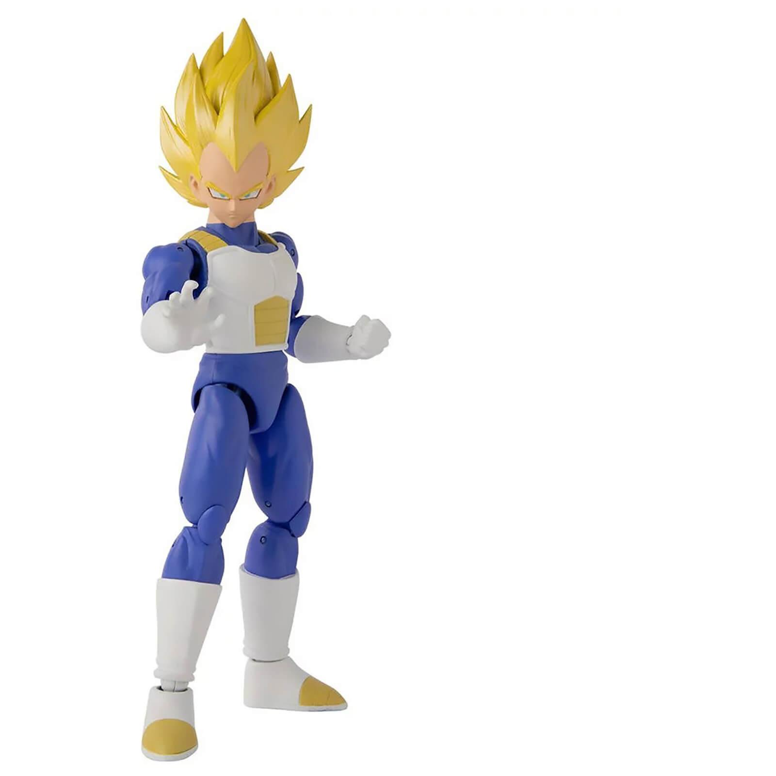 Image of Bandai Dragon Stars DBZ Super Saiyan Vegeta Version 2 Action Figure