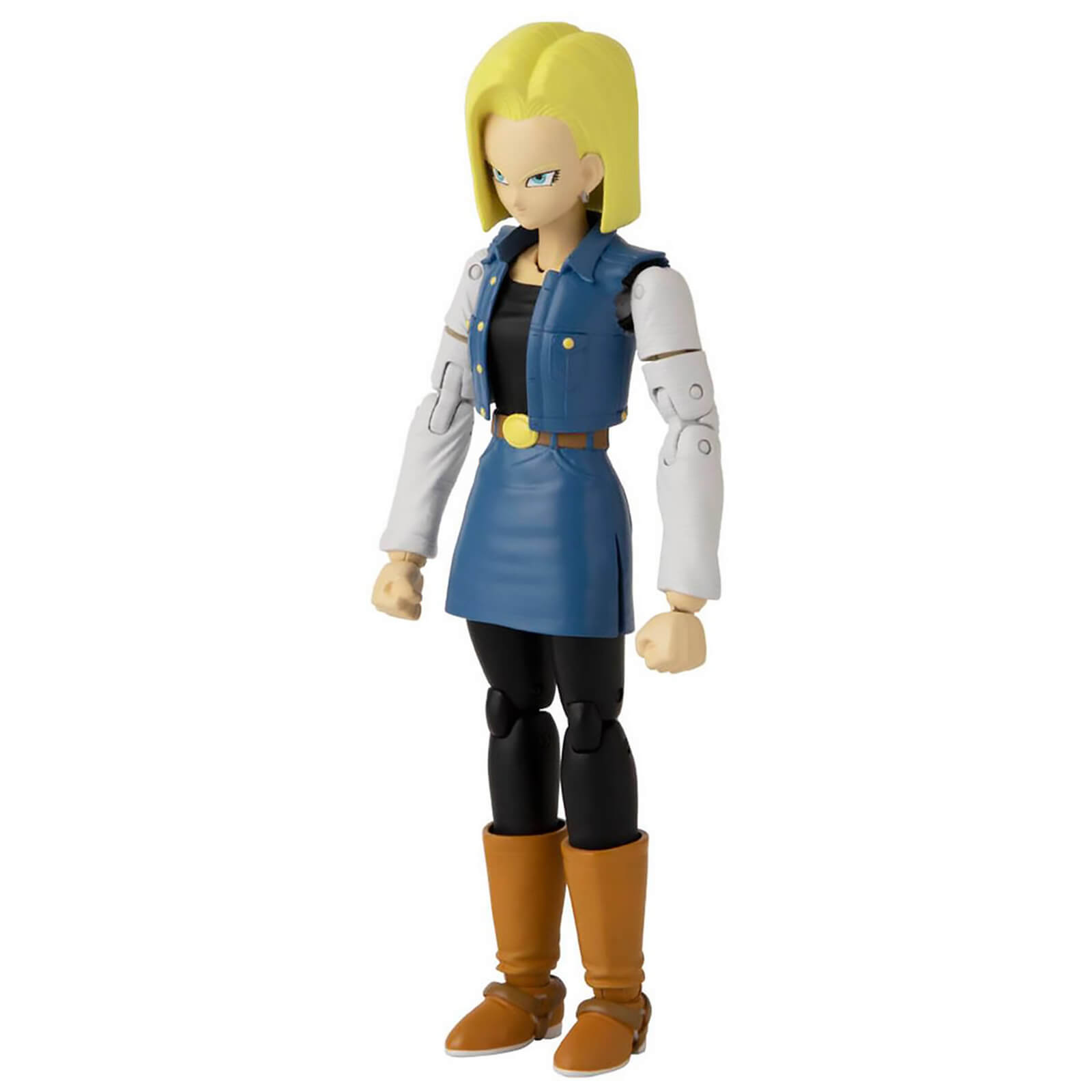 Image of Bandai Dragon Stars DBZ Android 18 Action Figure