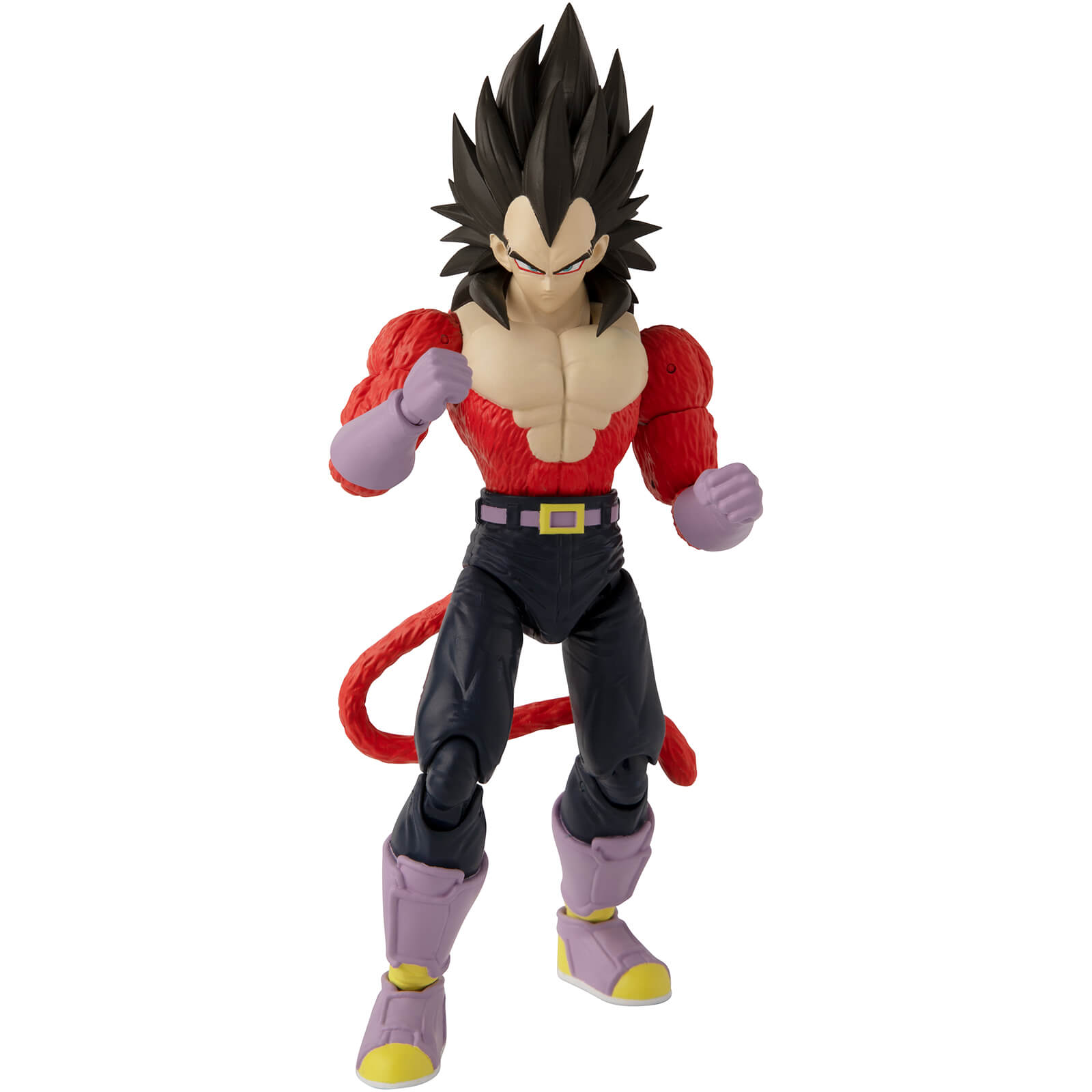 Image of Bandai Dragon Stars DBZ Super Saiyan 4 Vegeta Action Figure
