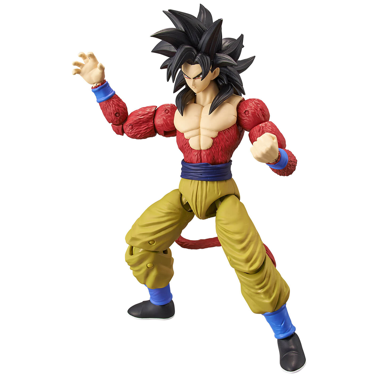 Image of Bandai Dragon Stars DBZ Super Saiyan 4 Goku Action Figure