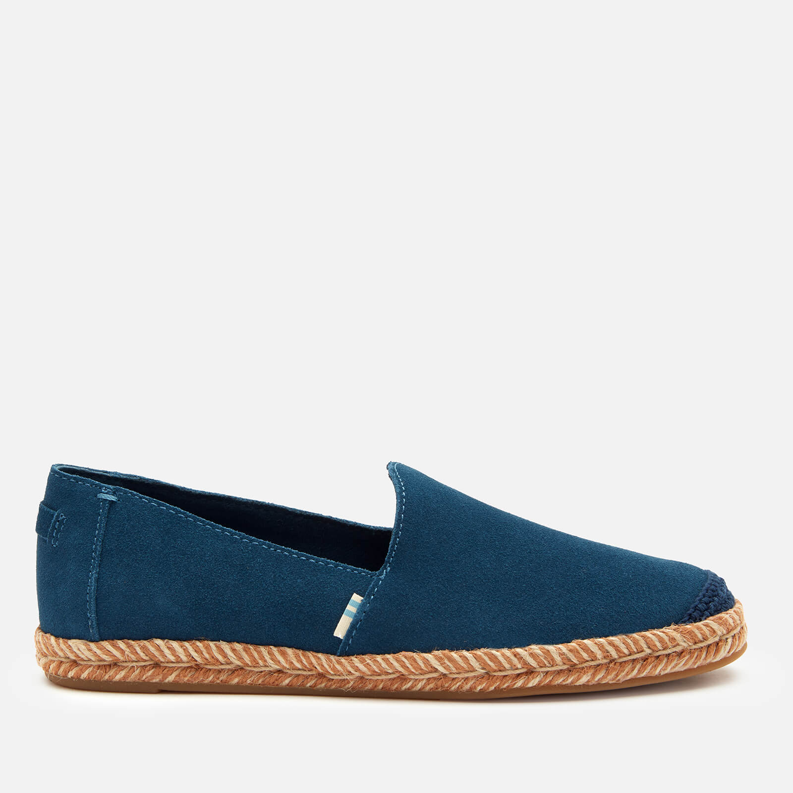 Click to view product details and reviews for Toms Womens Pismo Slip On Pumps Blue Uk 3.