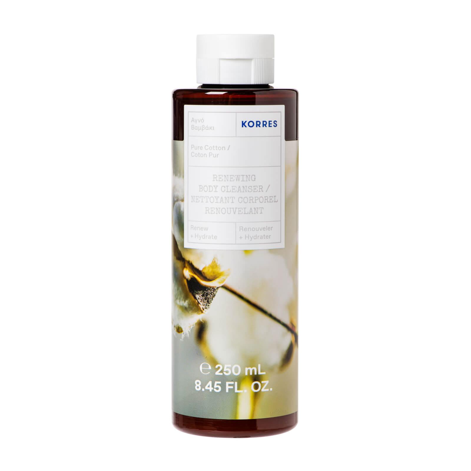Купить Korres Pure Cotton Renewing Body Cleanser 250ml