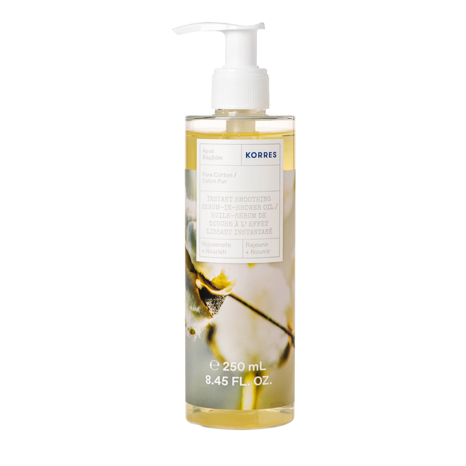 Купить Korres Sea Lavender Instant Smoothing Serum-In-Shower Oil 250ml