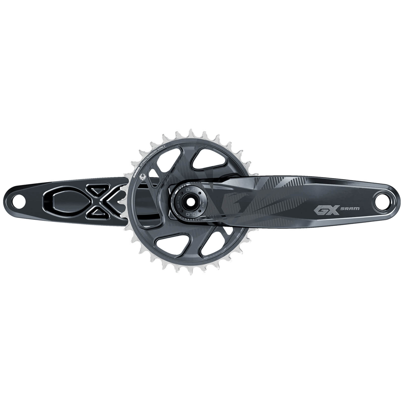 Sram Gx Eagle Boost Dub 12 Speed Chainset - 32t X 170mm