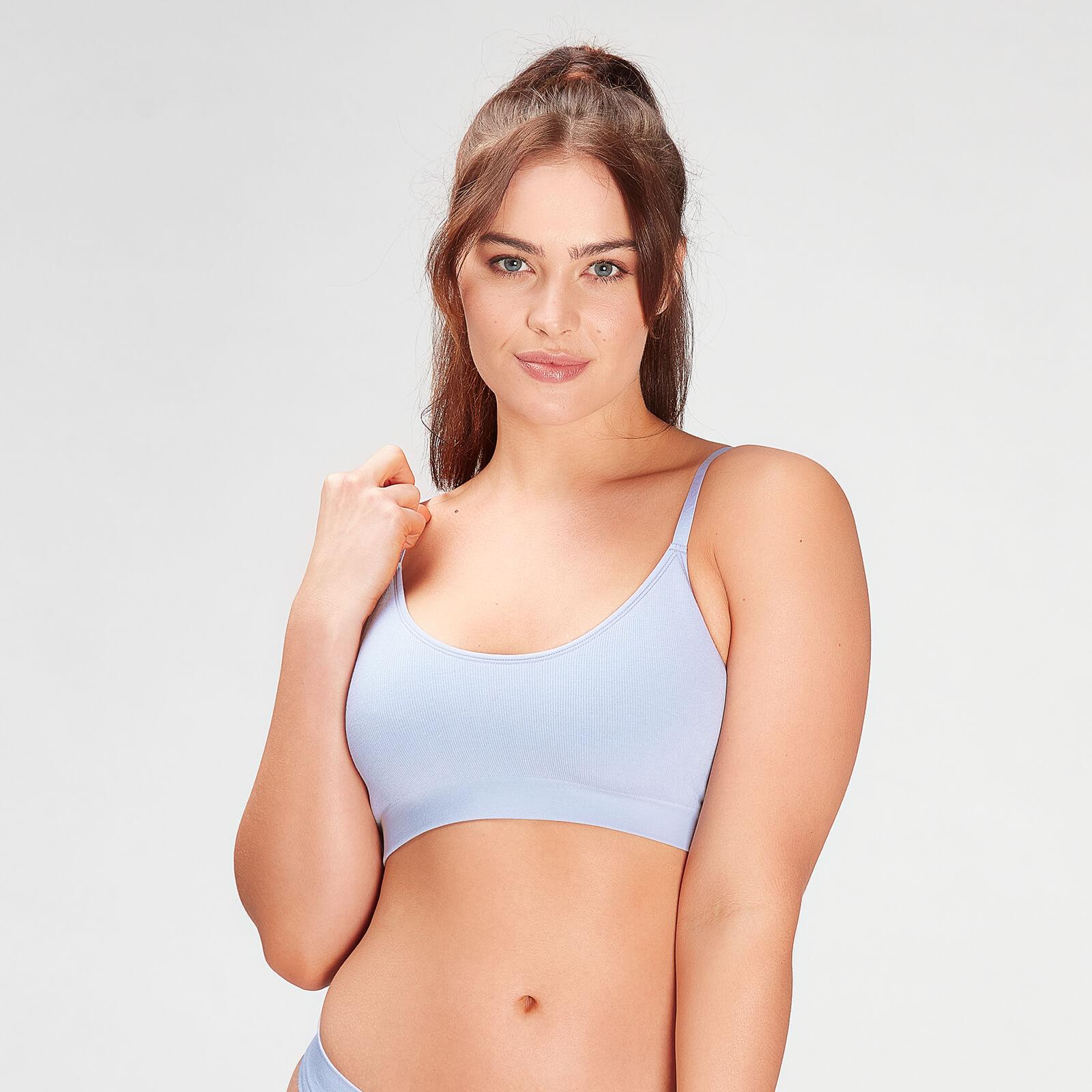 Купить MP Women's Composure Seamless Bralette - Xenon Blue - XS, Myprotein International