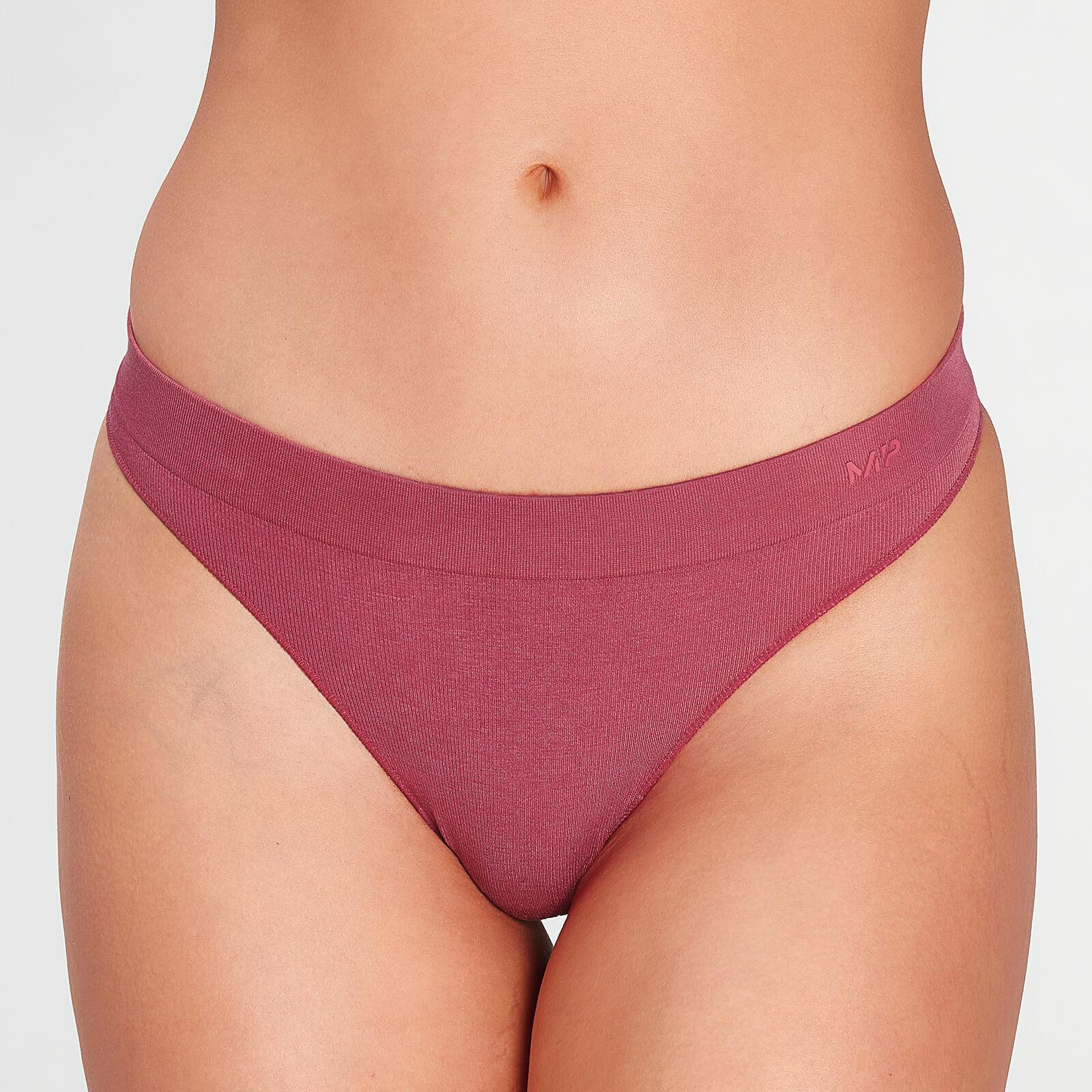 Купить MP Women's Composure Seamless Thong - Berry Pink - XS, Myprotein International