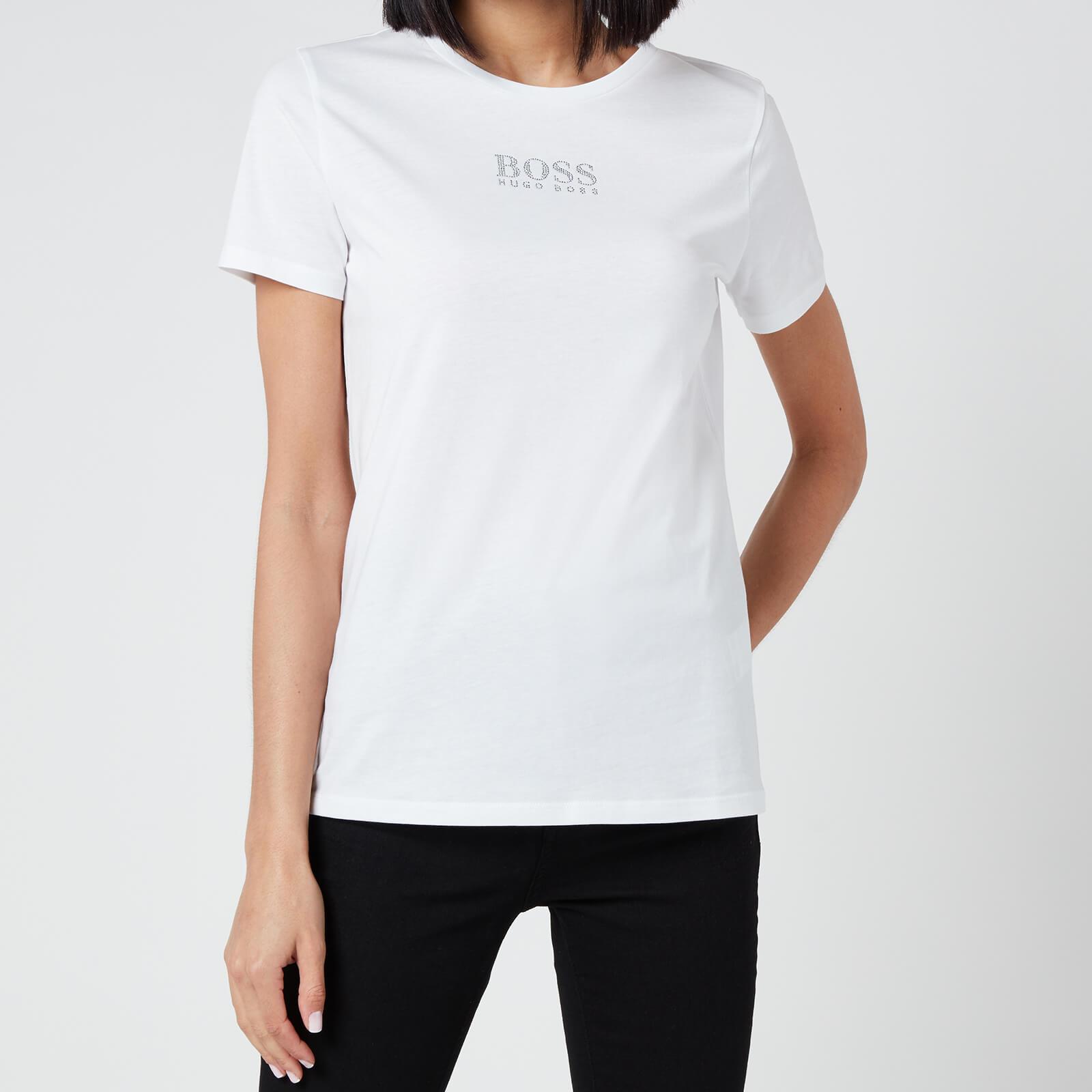 BOSS Women's Eloga T-Shirt - White - XS