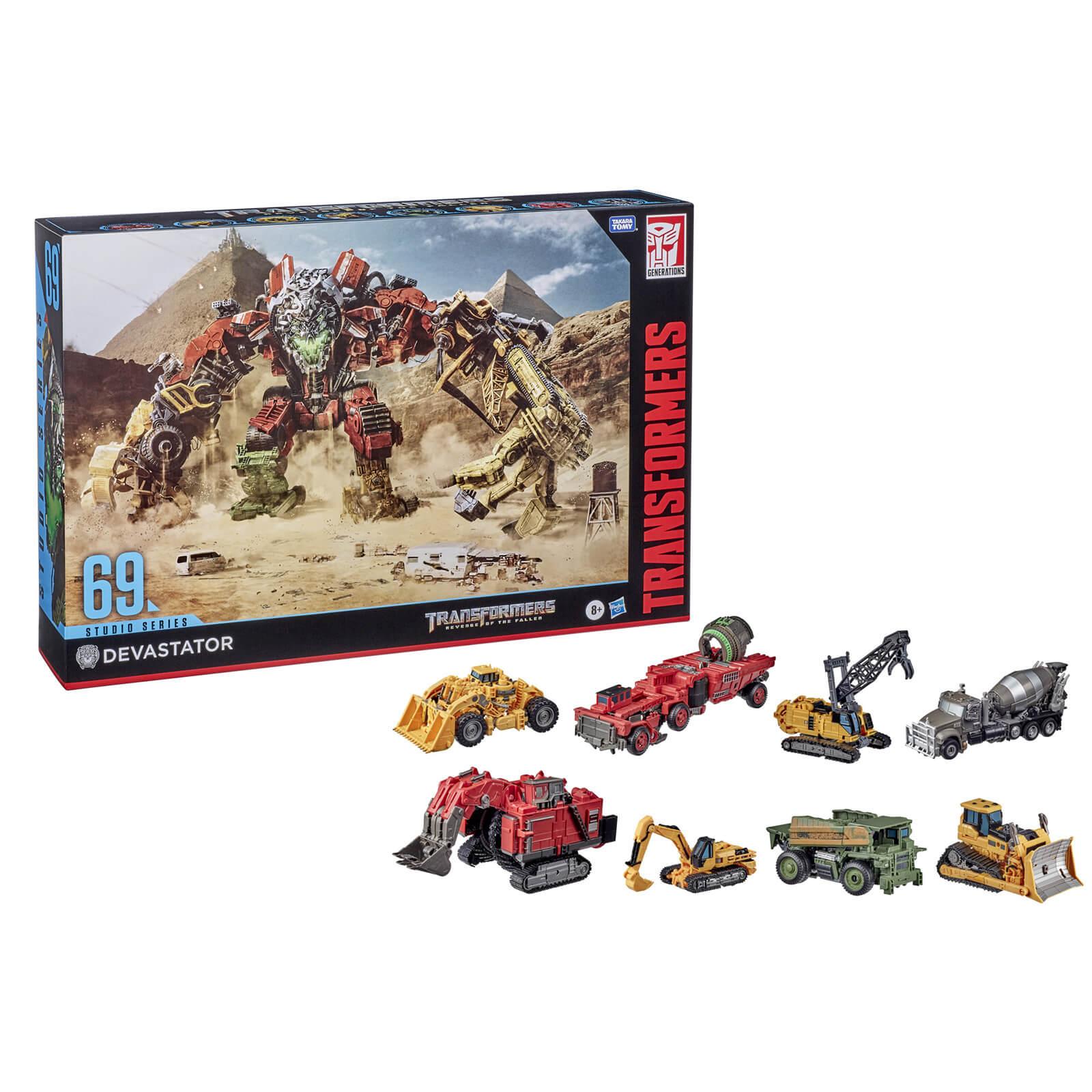 Hasbro Transformers Studio Series 69 Devastator Action Figure Set