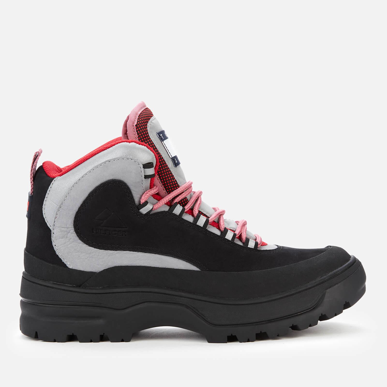 Tommy Jeans Women's Lace Up Boots - Black - Uk 3.5