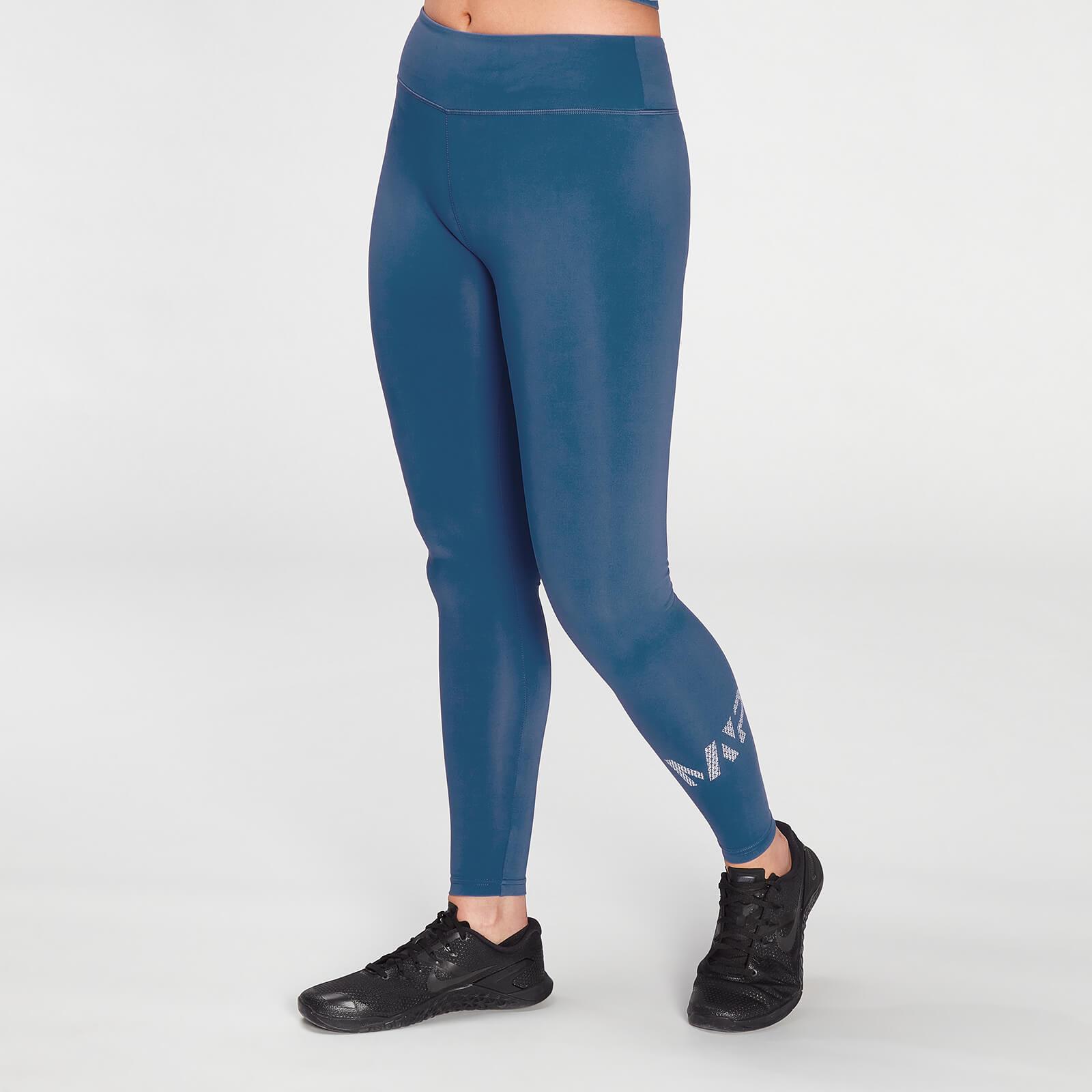 Mp Women's Essentials Printed Training Leggings - Pilot Blue - S Mpw590pilotblue Mens Sportswear, Blue