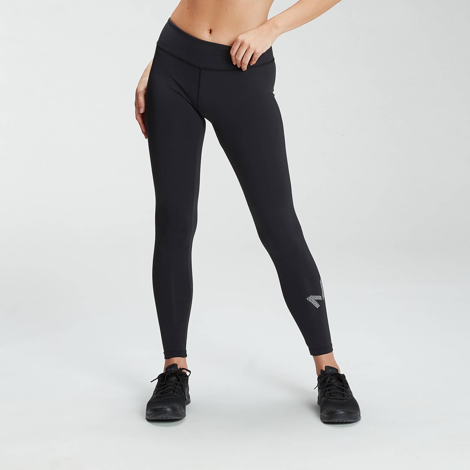 Купить MP Women's Essentials Printed Training Leggings - Black - XXS, Myprotein International