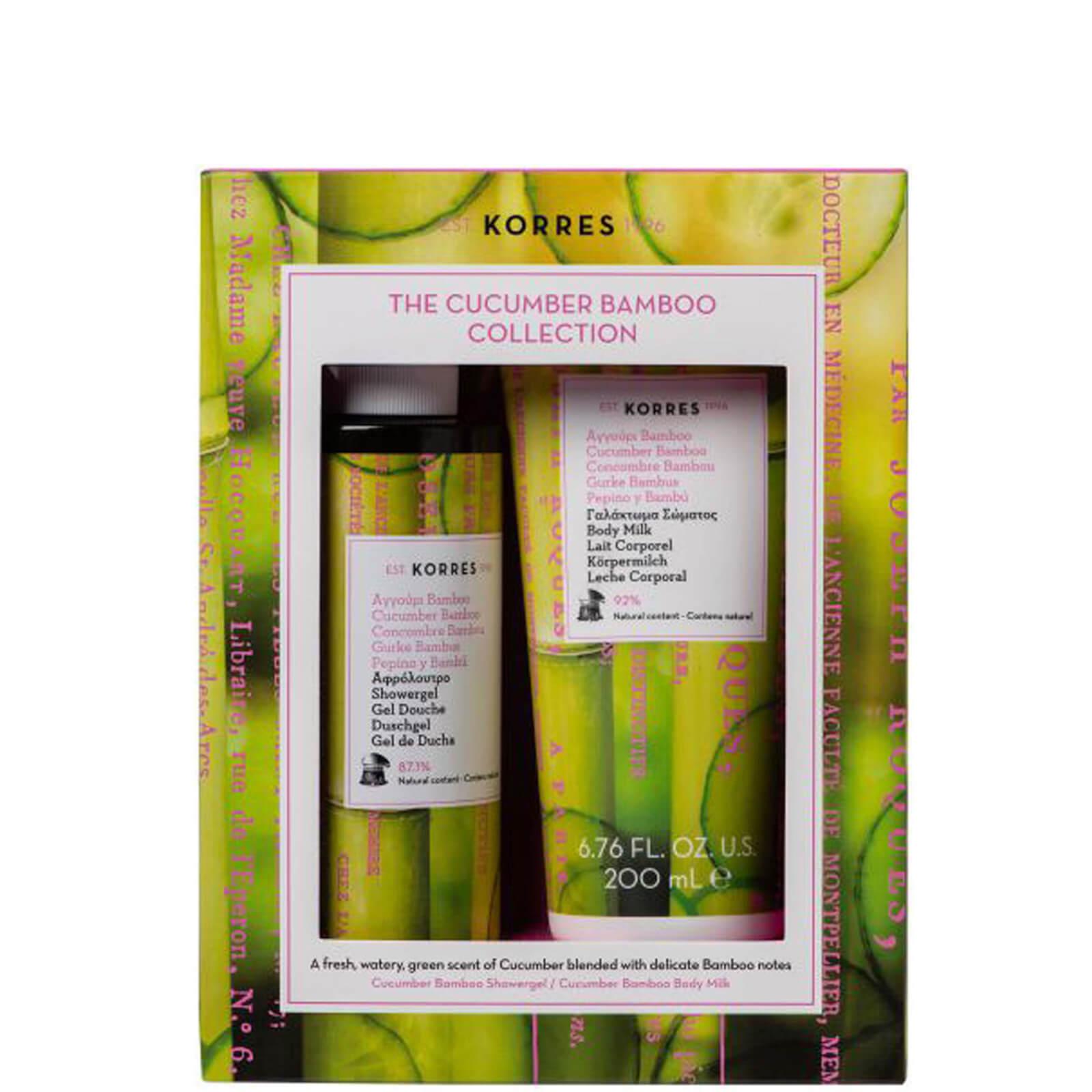 Купить Korres Cucumber and Bamboo Bath and Body Set