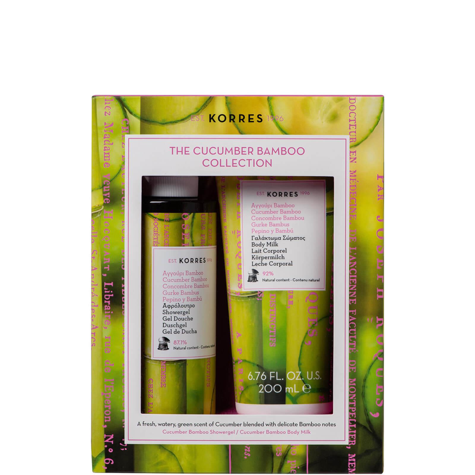 Купить Korres Cucumber and Bamboo Shower Gel Duo