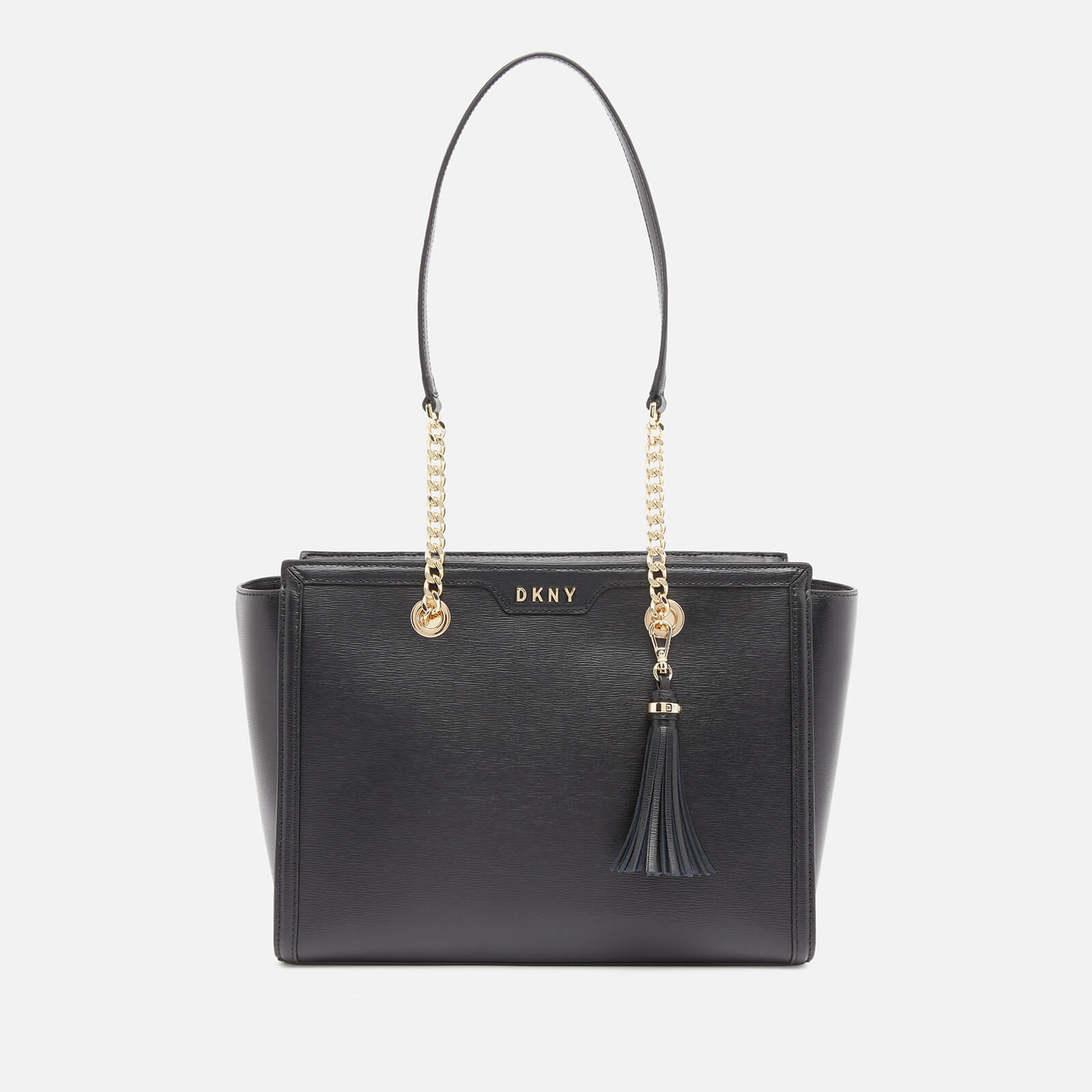 Dkny Women's Polly Sutton Tote Bag - Black/Gold Bgd