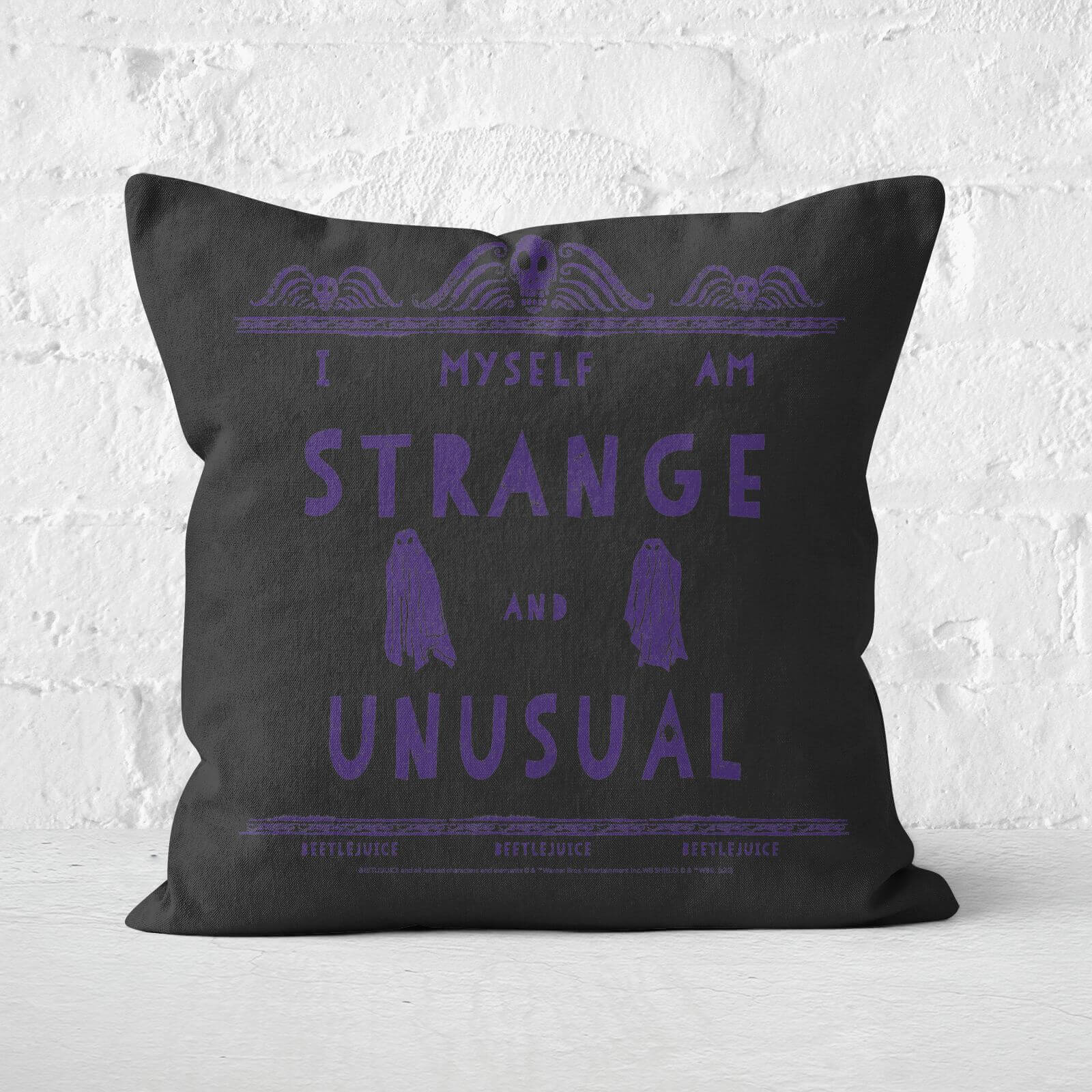 Beetlejuice Cushion Square Cushion - 60x60cm - Soft Touch