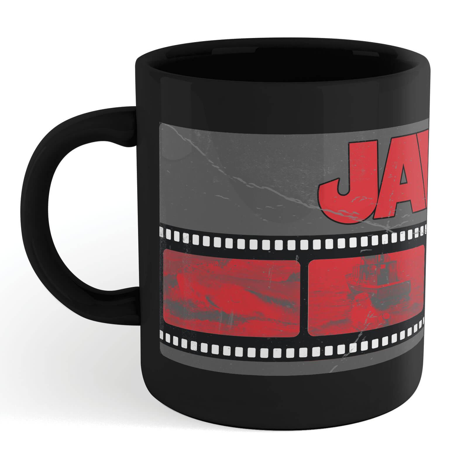 Jaws Film Reel Mug - Black