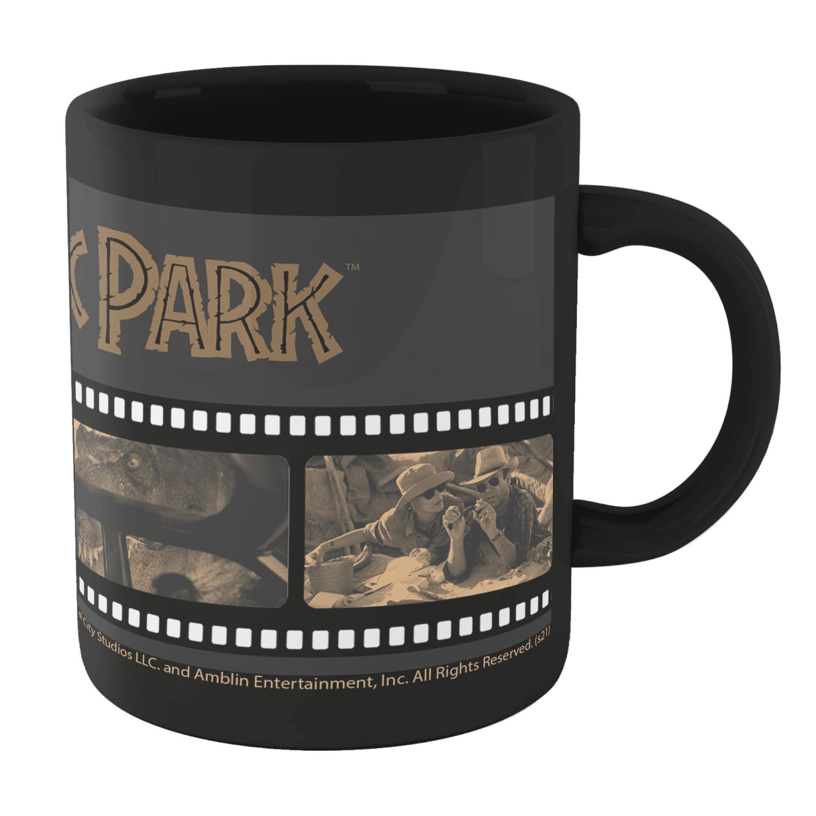 Jurassic Park Film Reel Mug - Black