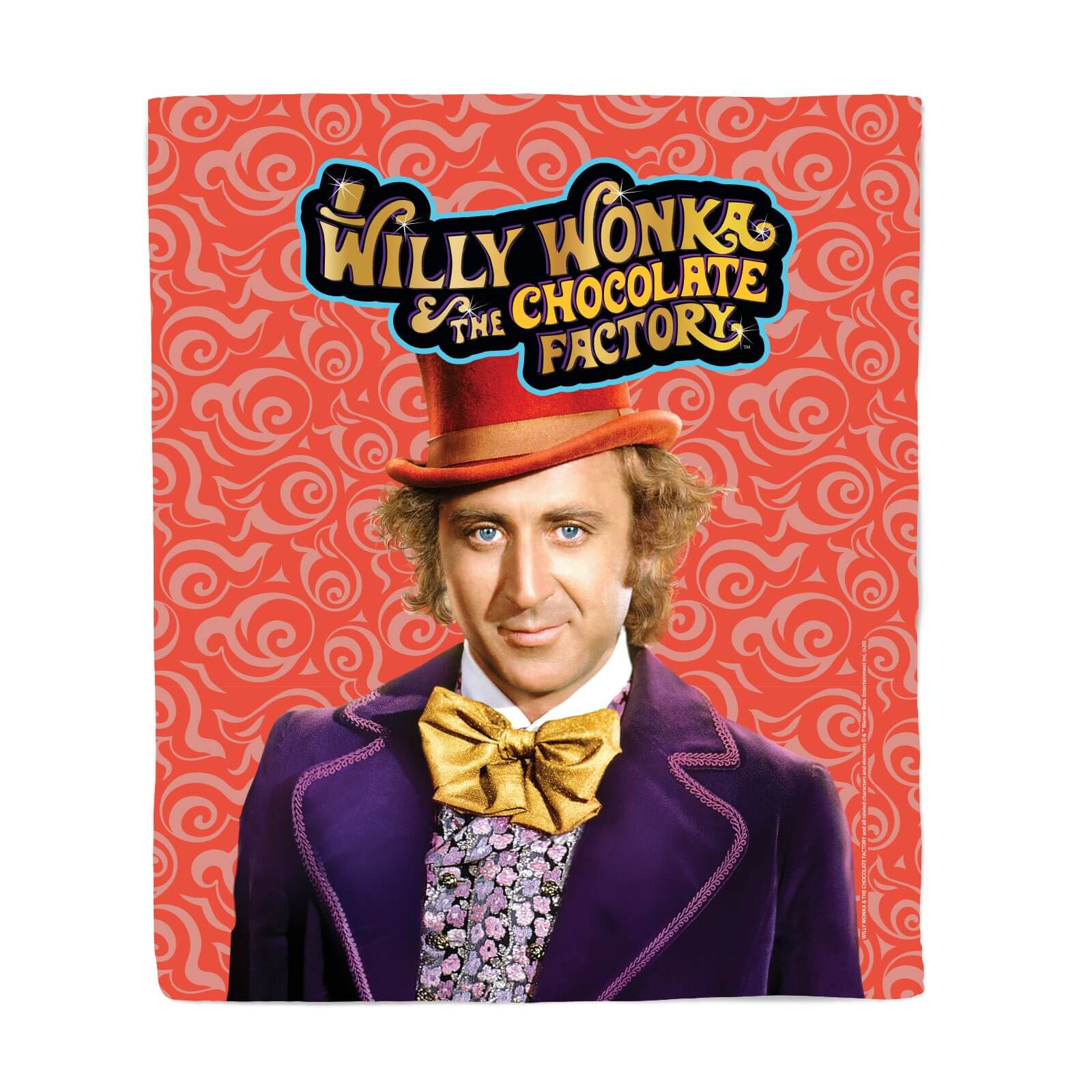Willy Wonka the Chocolate Factory Fleecedeken M