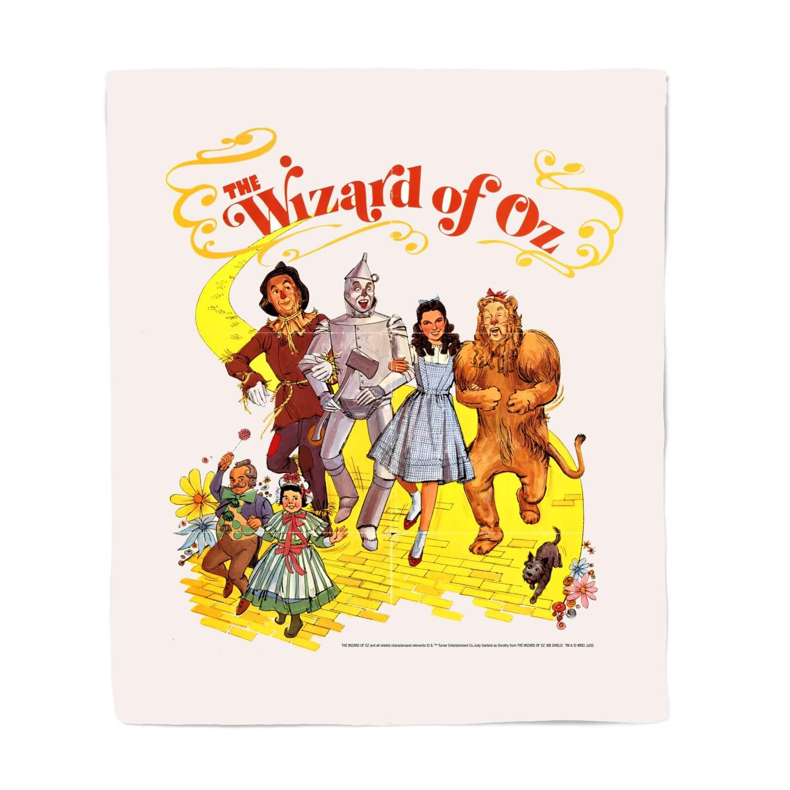 Wizard Of Oz Poster Fleecedeken M
