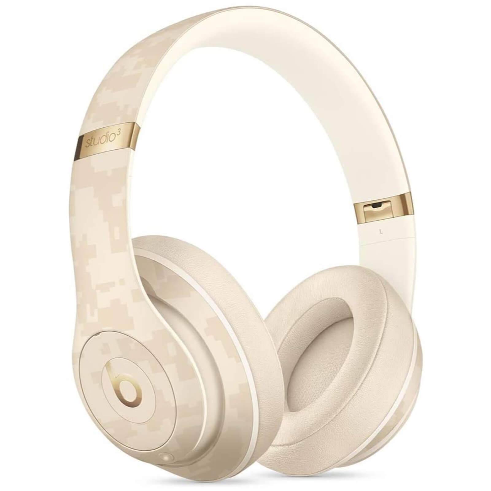 Beats Studio3 Wireless Headphones - Beats Camo Collection - Sand...