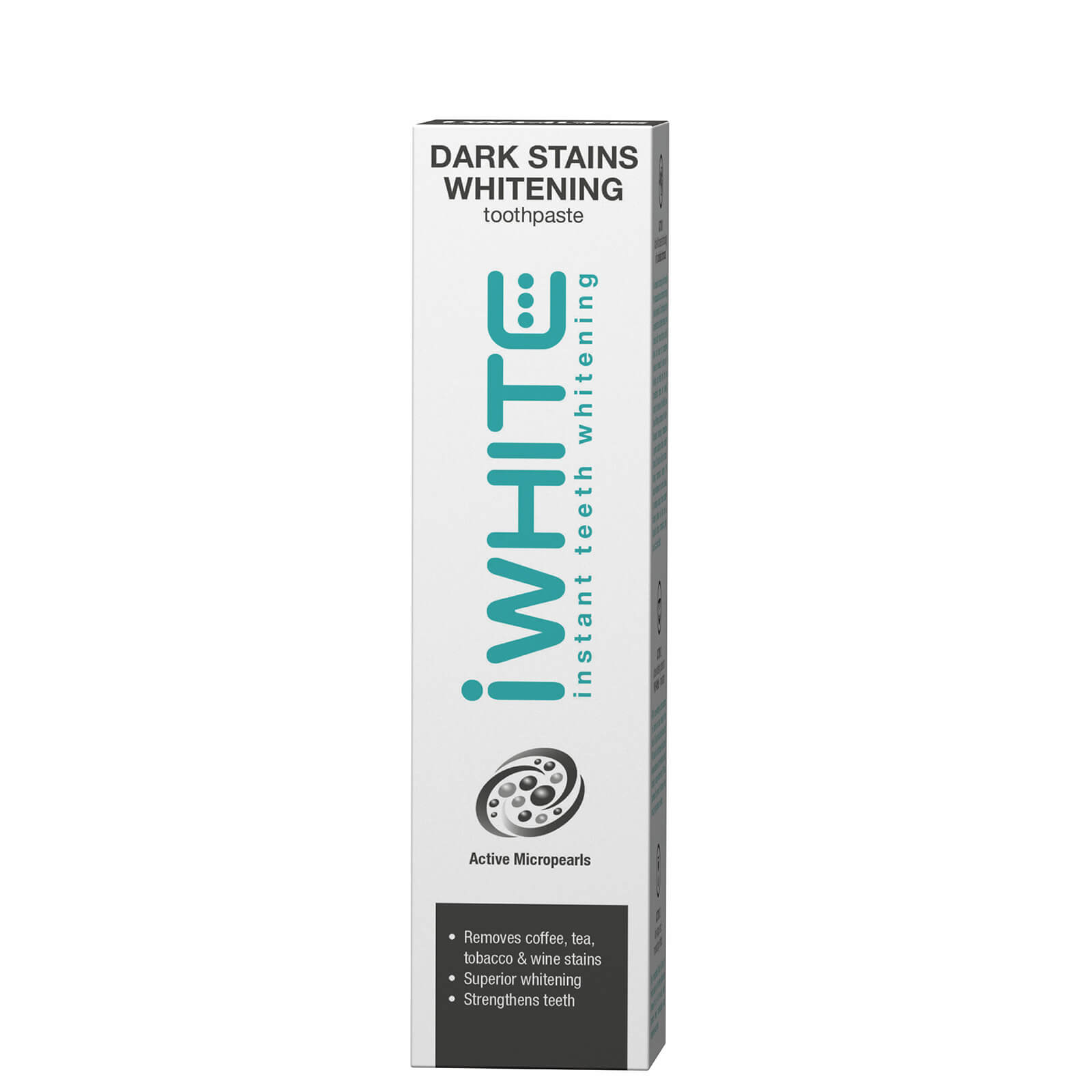 iWhite Dark Stains Whitening Toothpaste 75ml