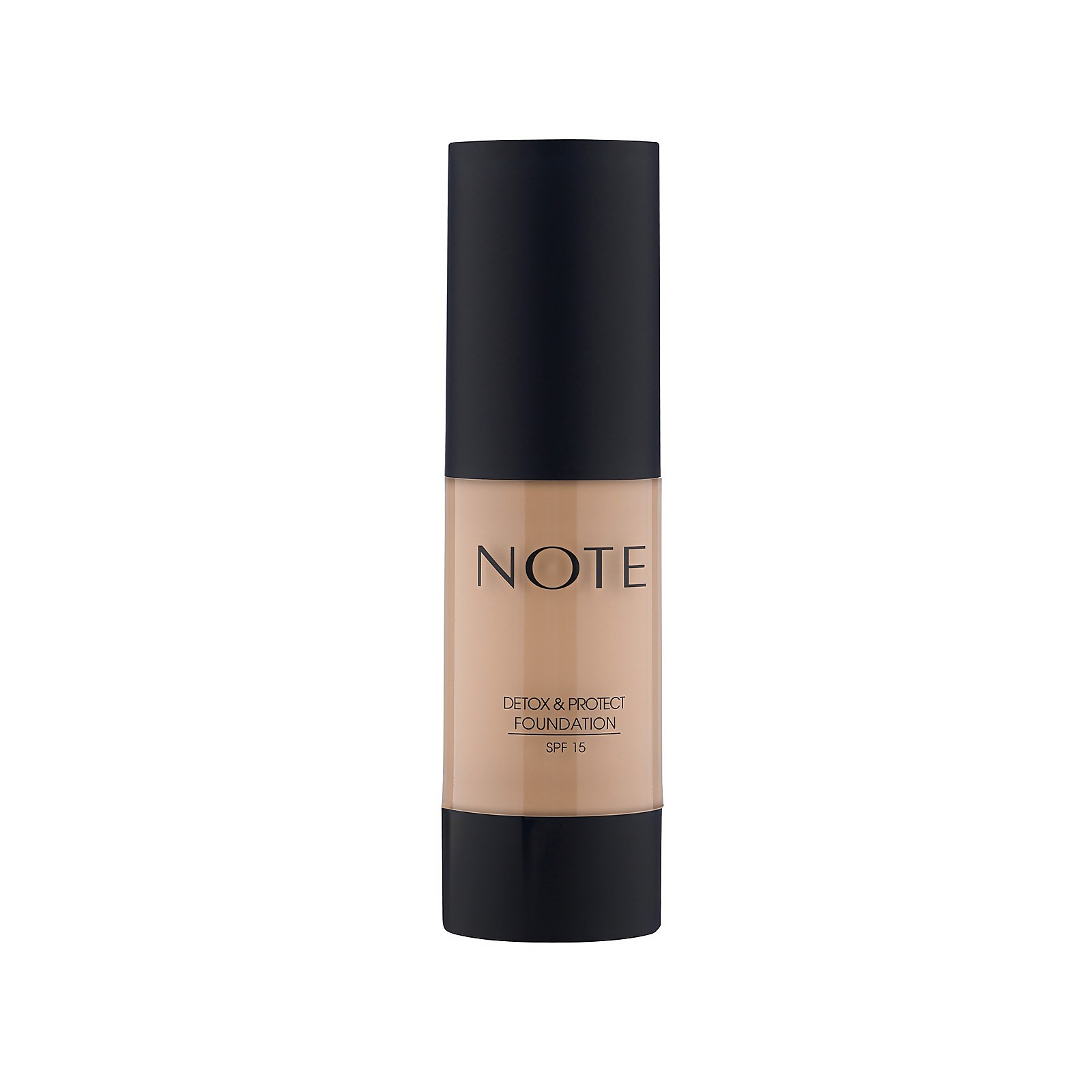 Купить Тональный крем Note Cosmetics Detox and Protect Foundation 35мл (разные оттенки) - 100 Cashmere Beige