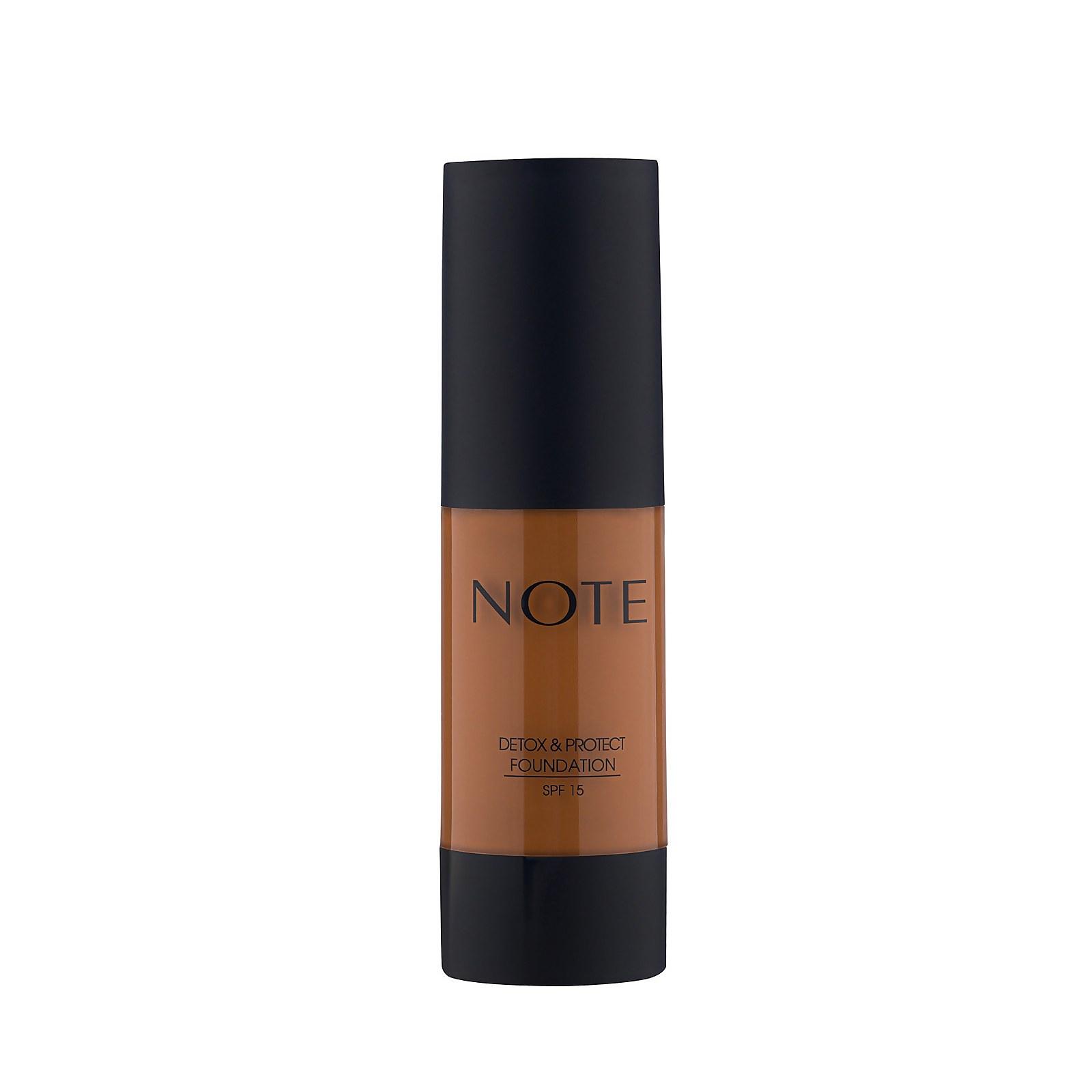 Купить Тональный крем Note Cosmetics Detox and Protect Foundation 35мл (разные оттенки) - 118 Walnut