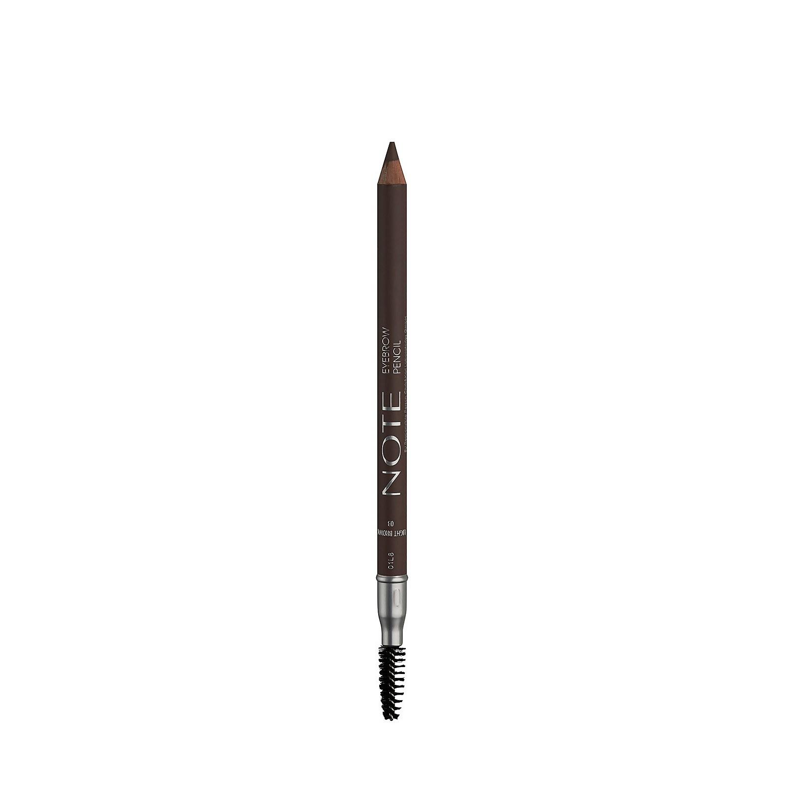 Купить Карандаш для бровей Note Cosmetics 1, 1 г (разные оттенки) - 03 Light Brown