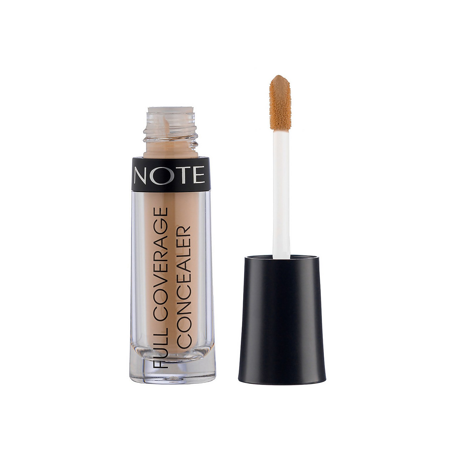 Note Cosmetics Full Coverage Liquid Concealer 2.3ml (Various Shades) - 01 Ivory