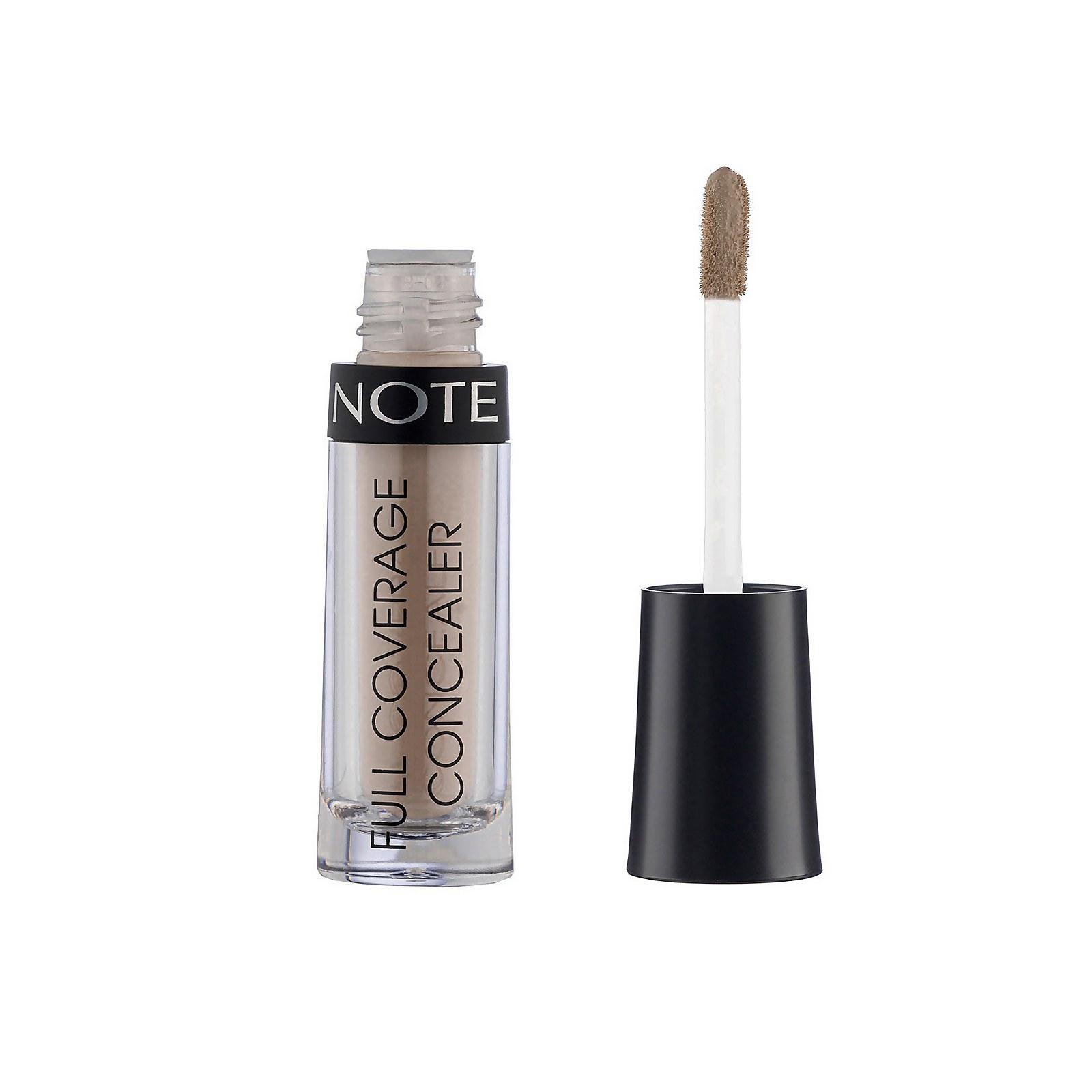 Купить Жидкий консилер Note Cosmetics Full Coverage Liquid Concealer 2, 3 мл (различные оттенки) - 04 Medium Sand