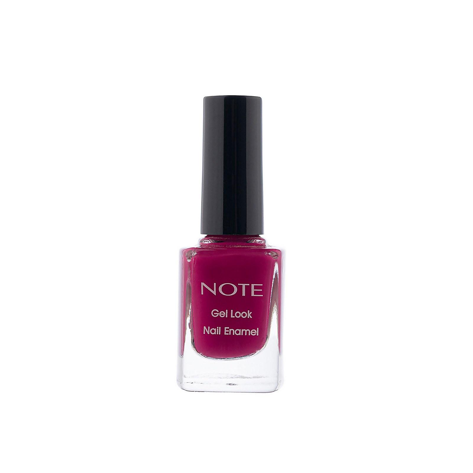 Купить Лак для ногтей Note Cosmetics Gel Look Nail Enamel 10мл (разные оттенки) - 10