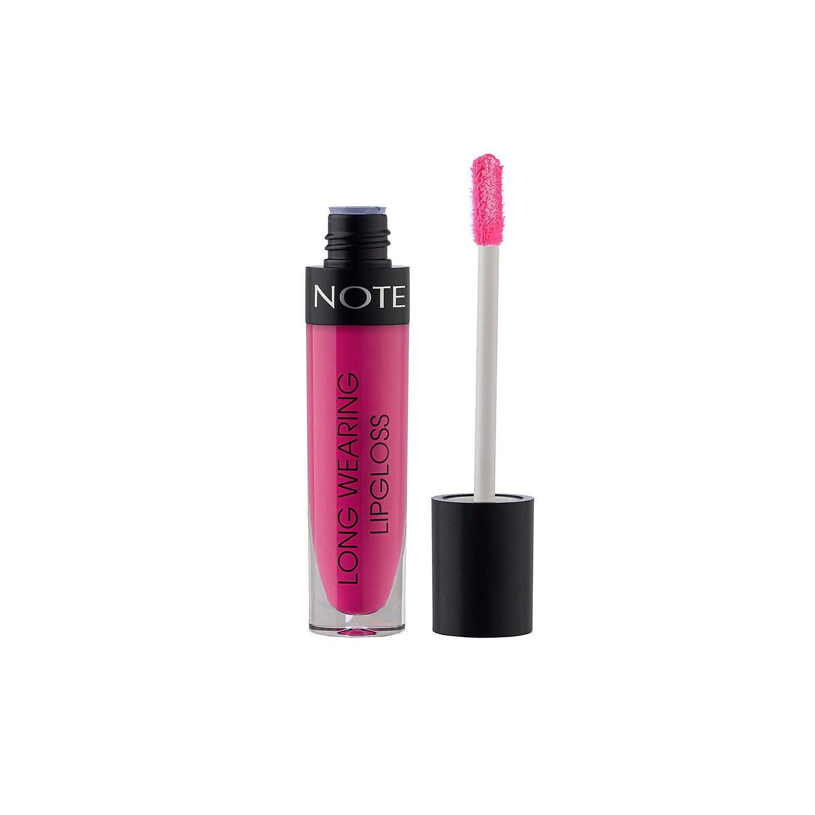 Купить Note Cosmetics Long Wearing Lip Gloss 6ml (Various Shades) - 17 Fuchsia