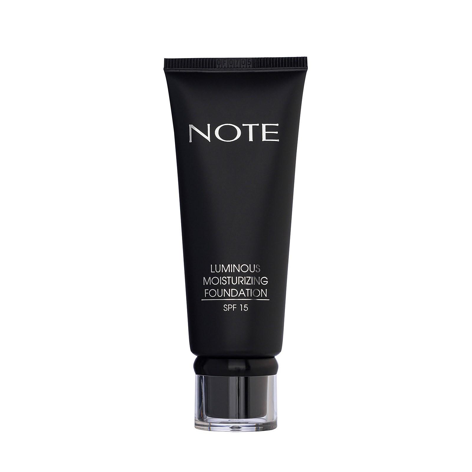Купить Увлажняющий тональный крем Note Cosmetics Luminous Moisturizing Foundation 35мл (разные оттенки) - 122 Light Beige