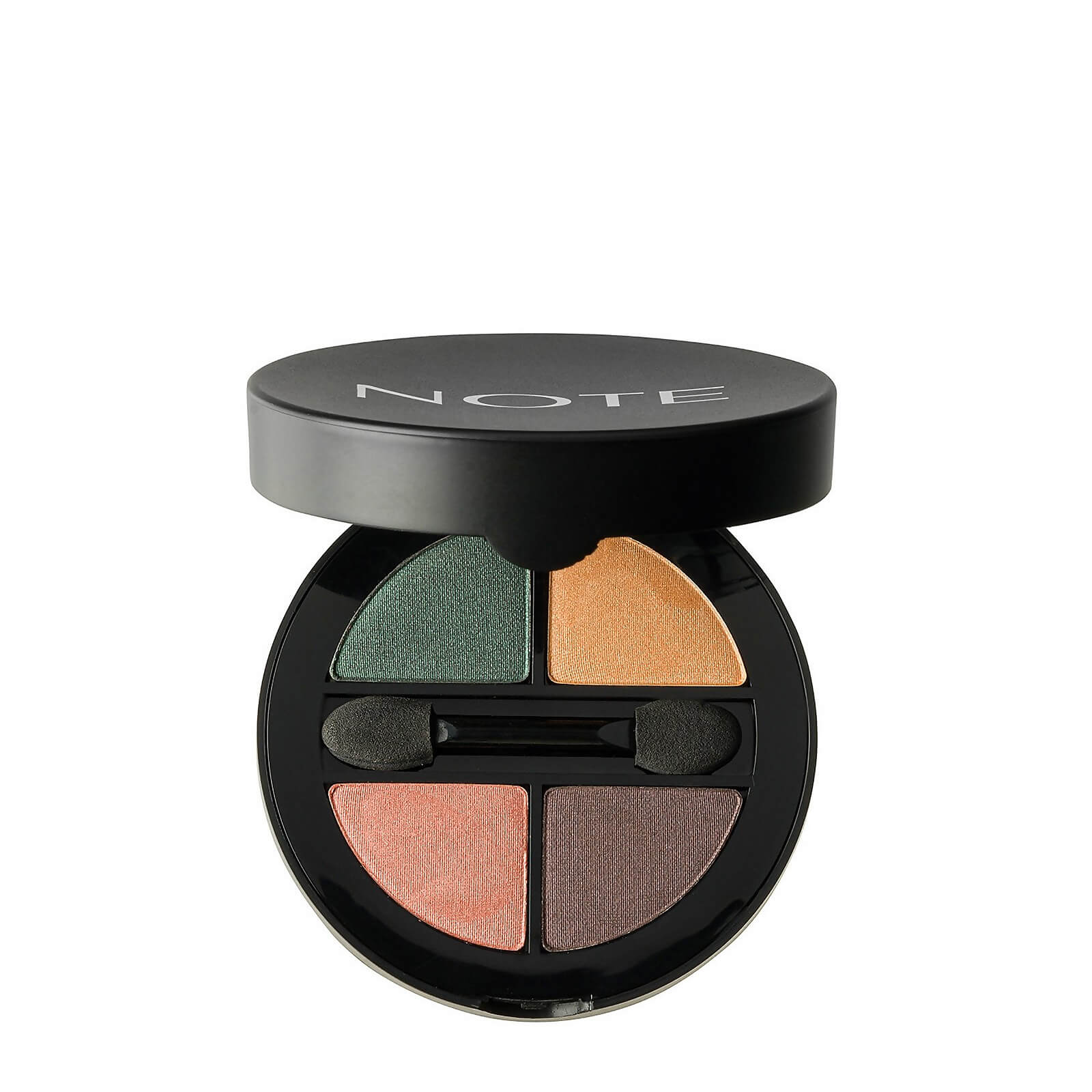 Купить Тени для глаз - Note Cosmetics Luminous Silk Quattro Eye Shadow - SQE-2