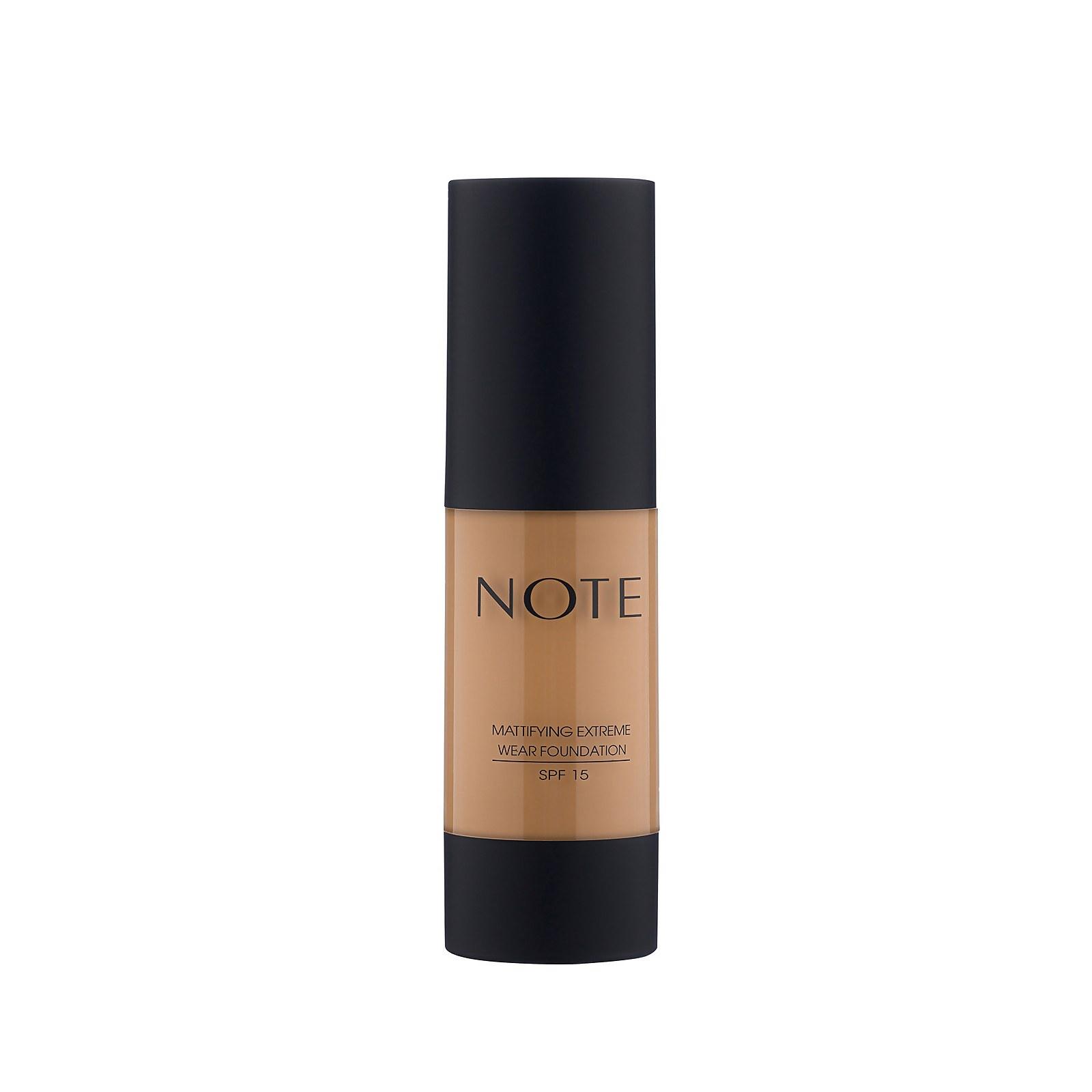 Купить Note Cosmetics Mattifying Extreme Wear Foundation 35ml (Various Shades) - 102 Warm Almond