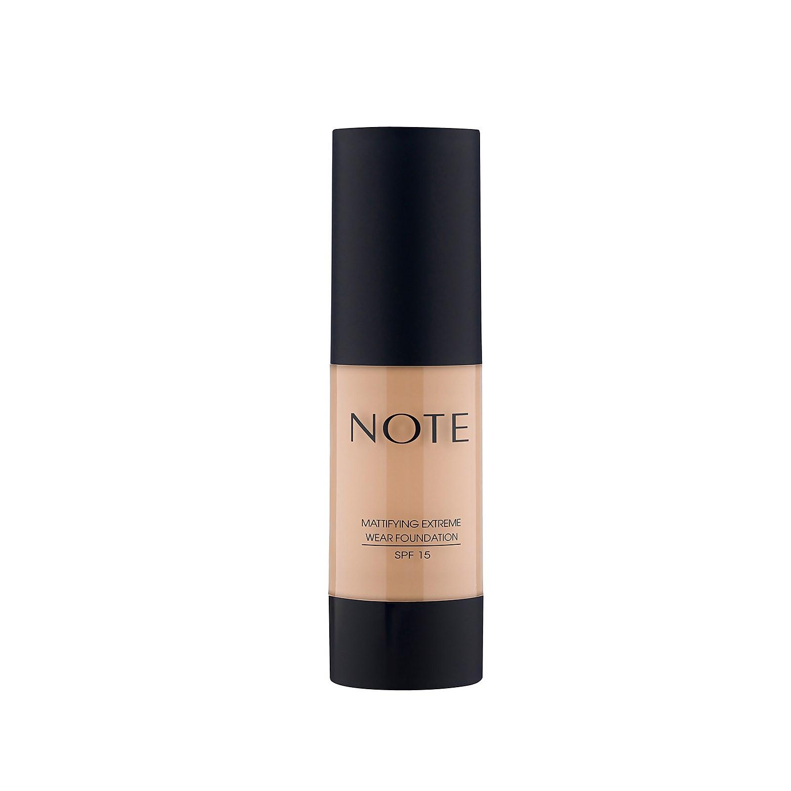 Купить Note Cosmetics Mattifying Extreme Wear Foundation 35ml (Various Shades) - 121 Porcelain