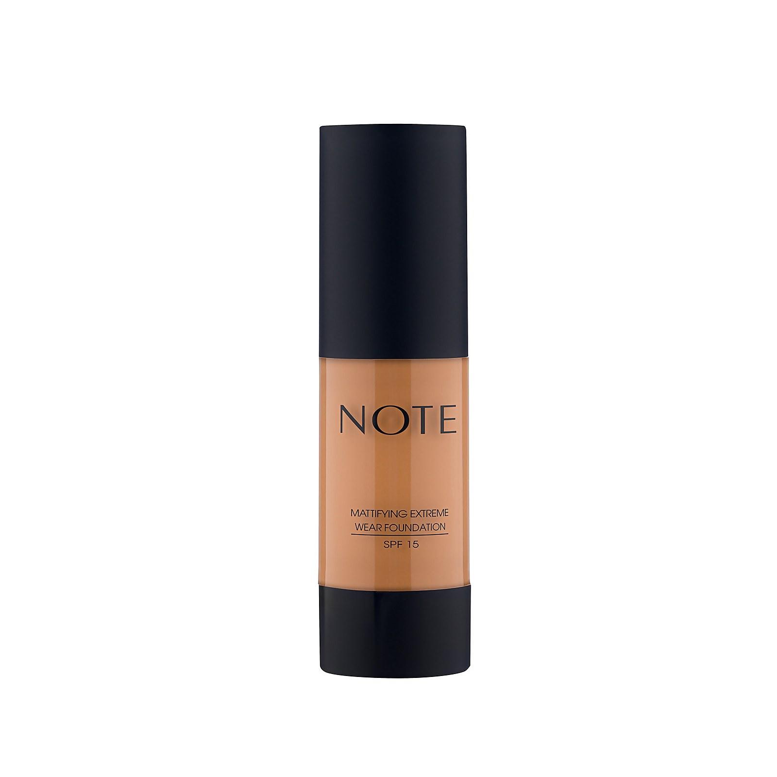 Купить Note Cosmetics Mattifying Extreme Wear Foundation 35ml (Various Shades) - 123 Golden Caramel