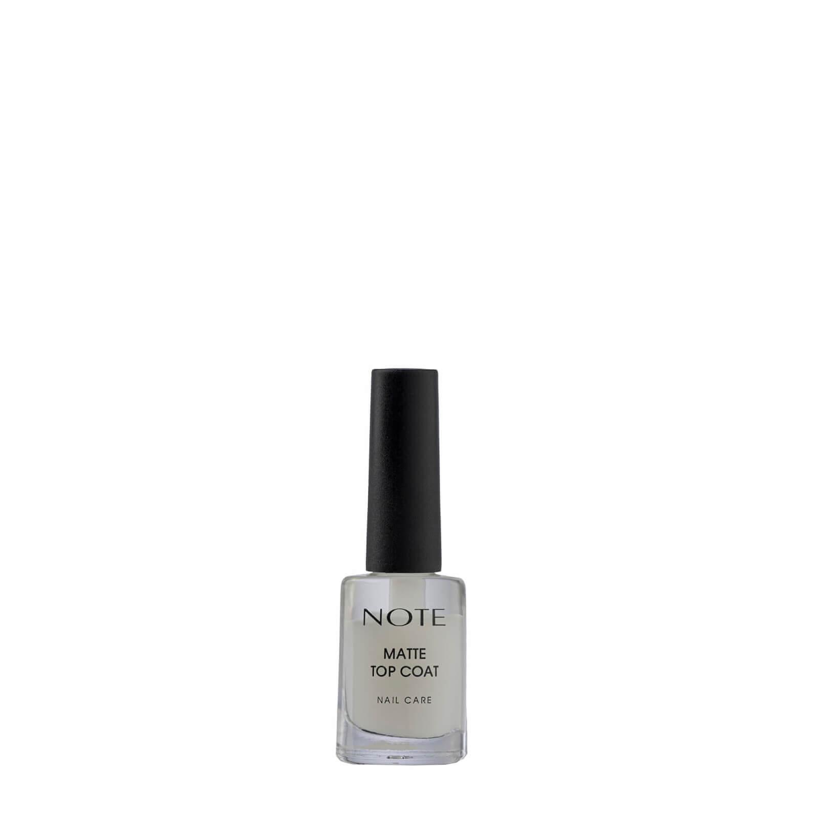 Купить Матовое покрытие для лака Note Cosmetics Matte Top Coat для ухода за ногтями 9 мл
