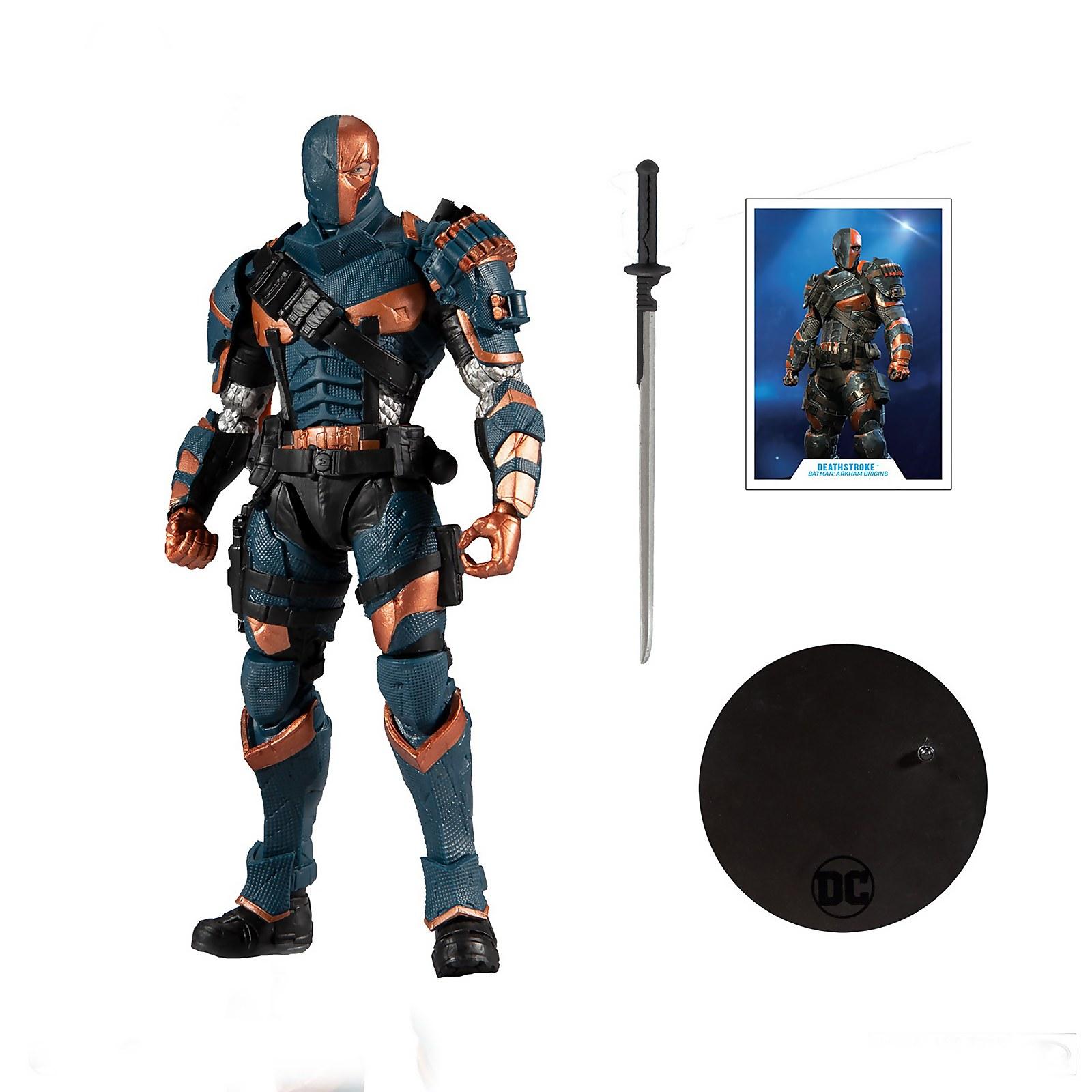 McFarlane DC Gaming 7 Action Figures - Wv2 - Arkham Origins Deathstroke Action Figure