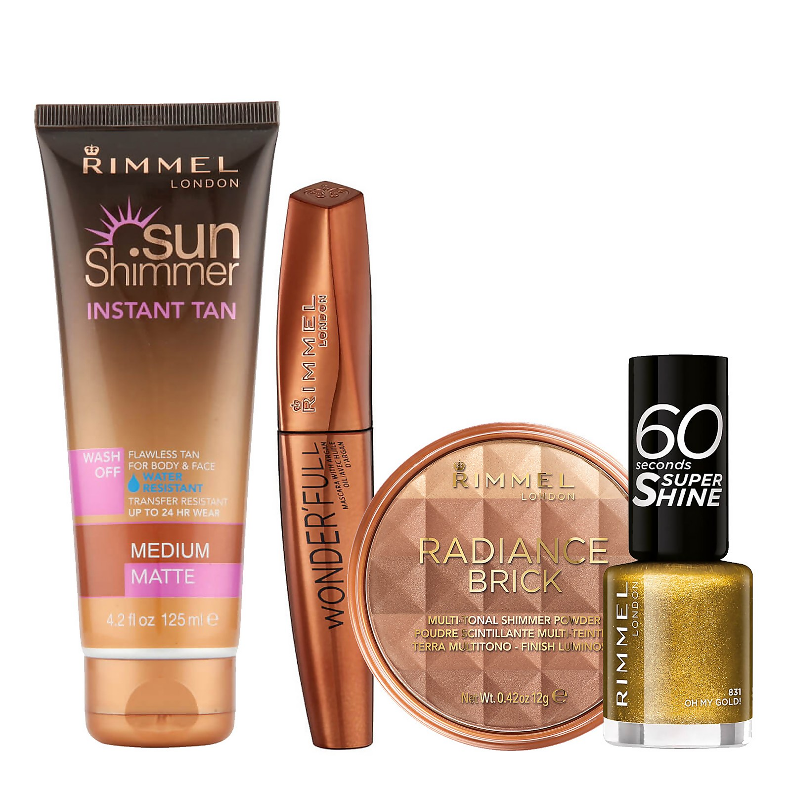 Rimmel Bronze Beauty Bundle (Worth £26.46)