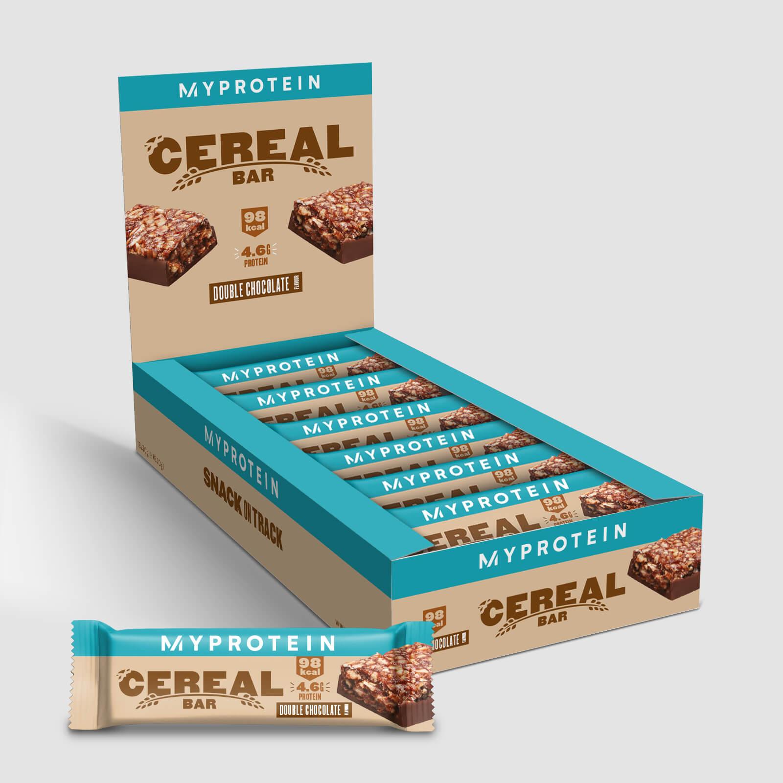 Barre de céréales - 18 x 30g - Double chocolat