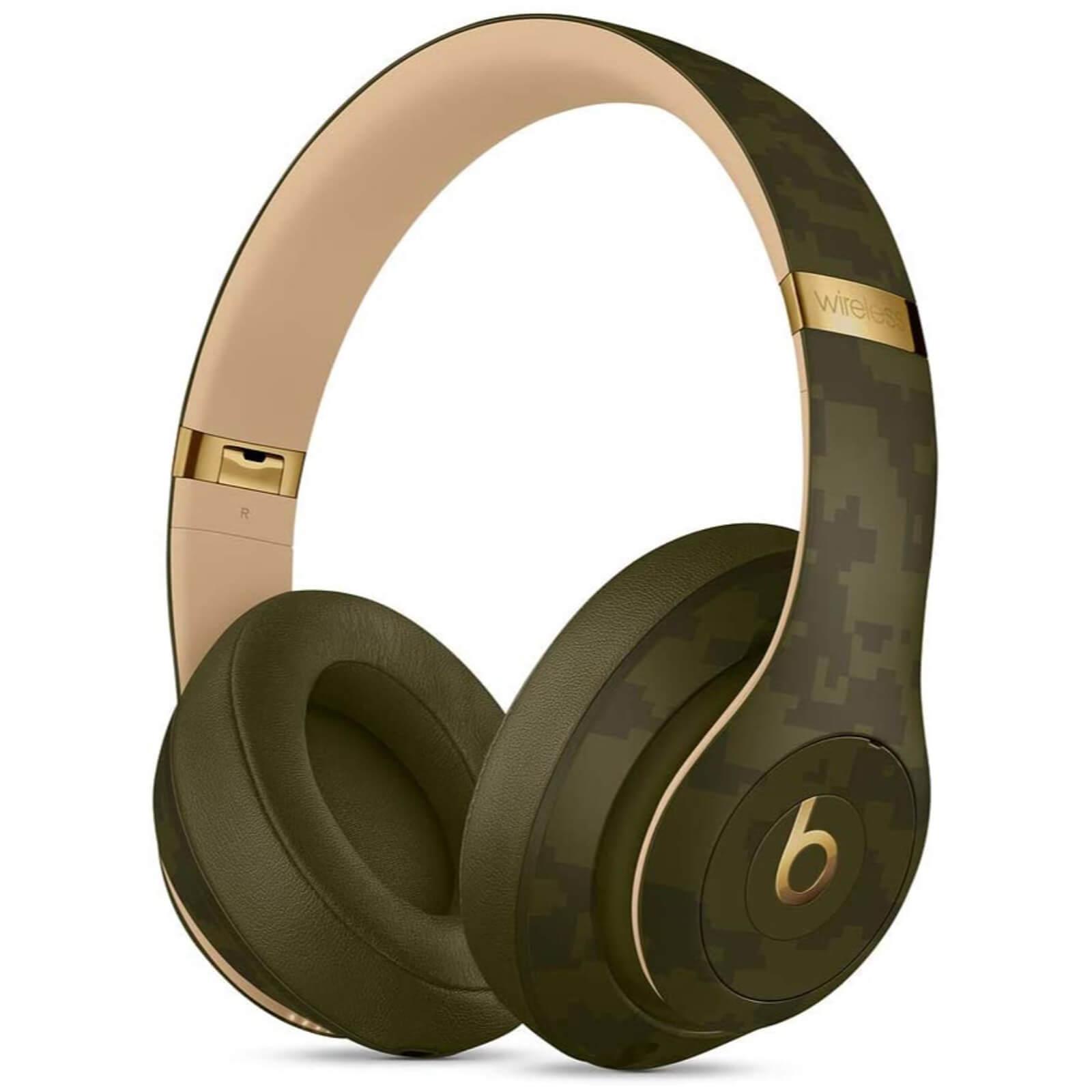 Beats Studio3 Wireless Headphones - Beats Camo Collection - Forest...