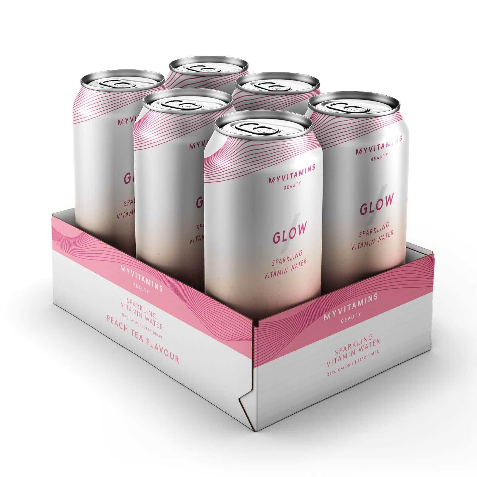 Vitamin Glow Beauty Drink - 6 x 330ml - Peach