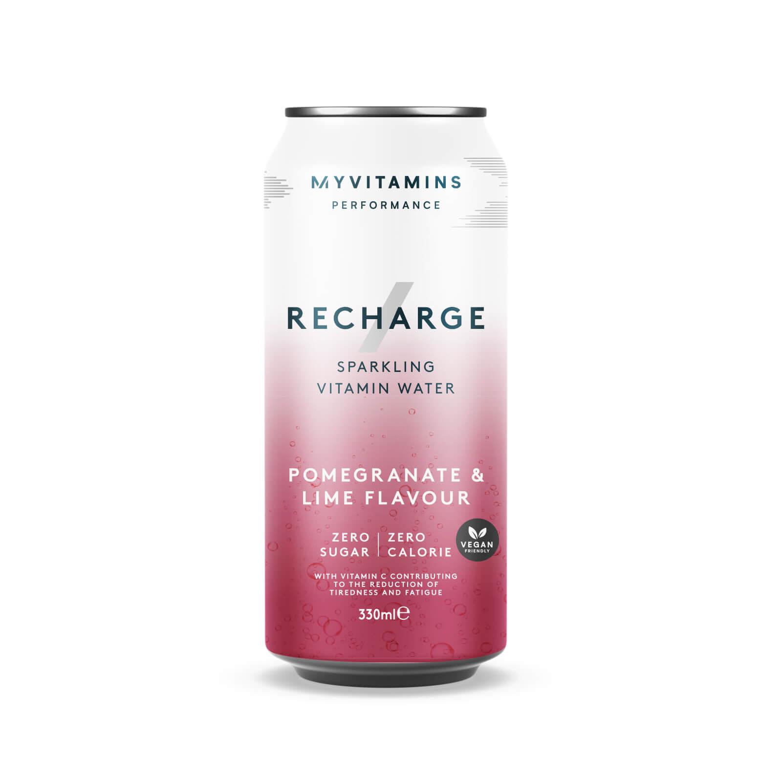 Купить Готовый напиток Recharge - 330ml - Raspberry and Cherry, Myprotein International