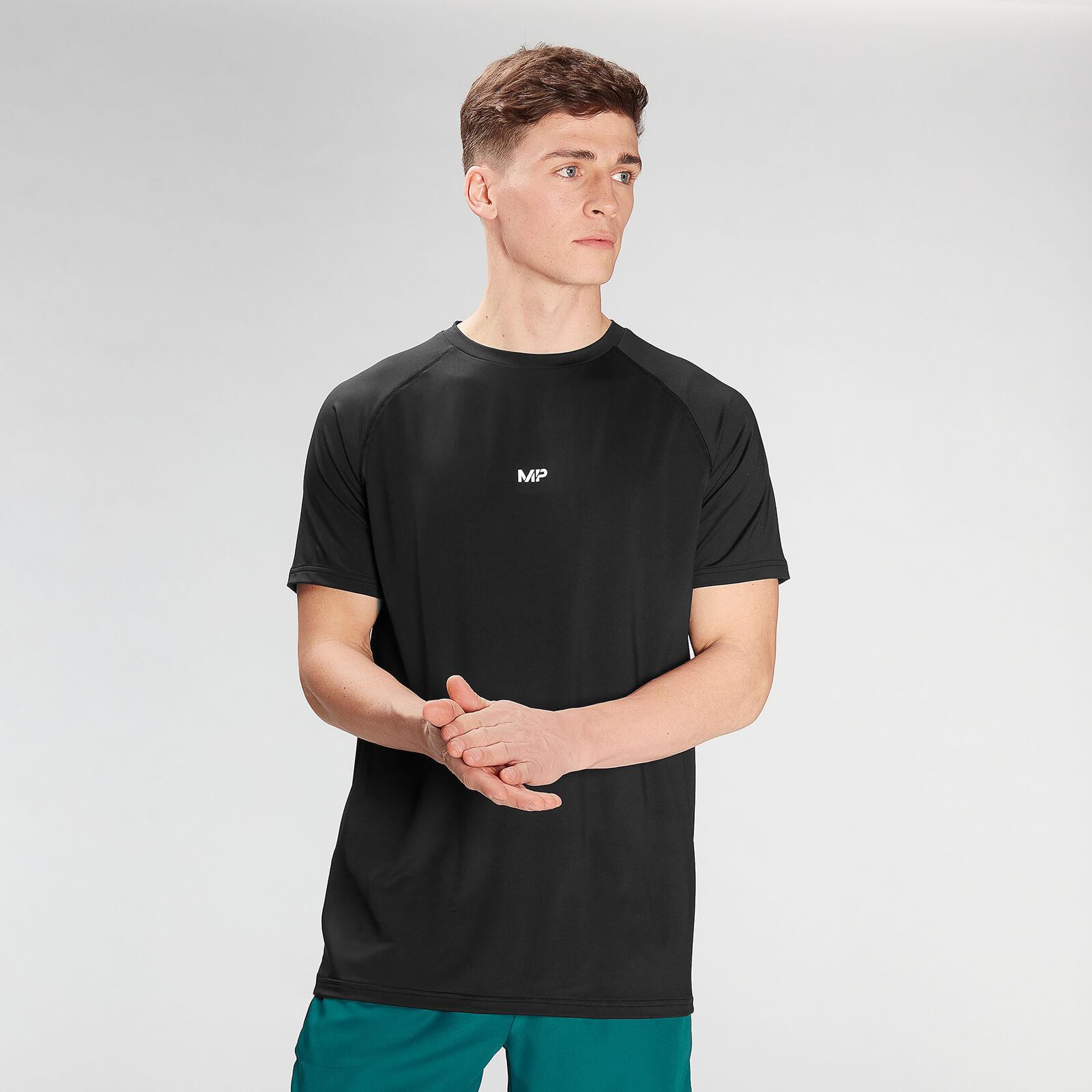 Купить MP Men's Limited Edition Impact Short Sleeve T-Shirt - Black - XXL, Myprotein International