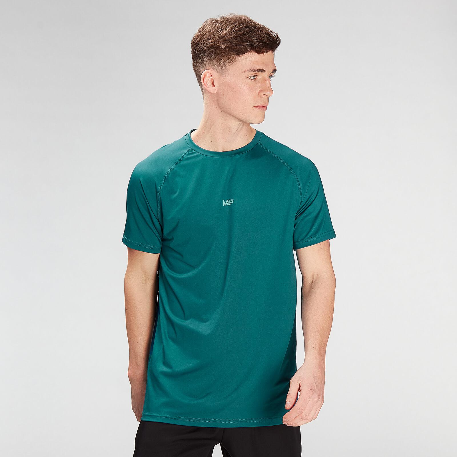 Купить MP Men's Limited Edition Impact Short Sleeve T-Shirt - Teal - XXL, Myprotein International