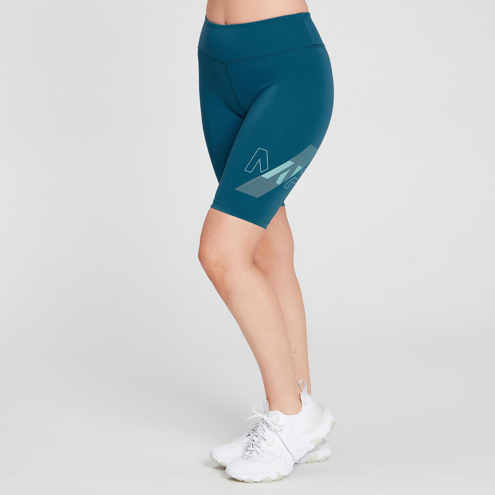 Купить MP Women's Limited Edition Impact Cycling Shorts - Teal - XXL, Myprotein International